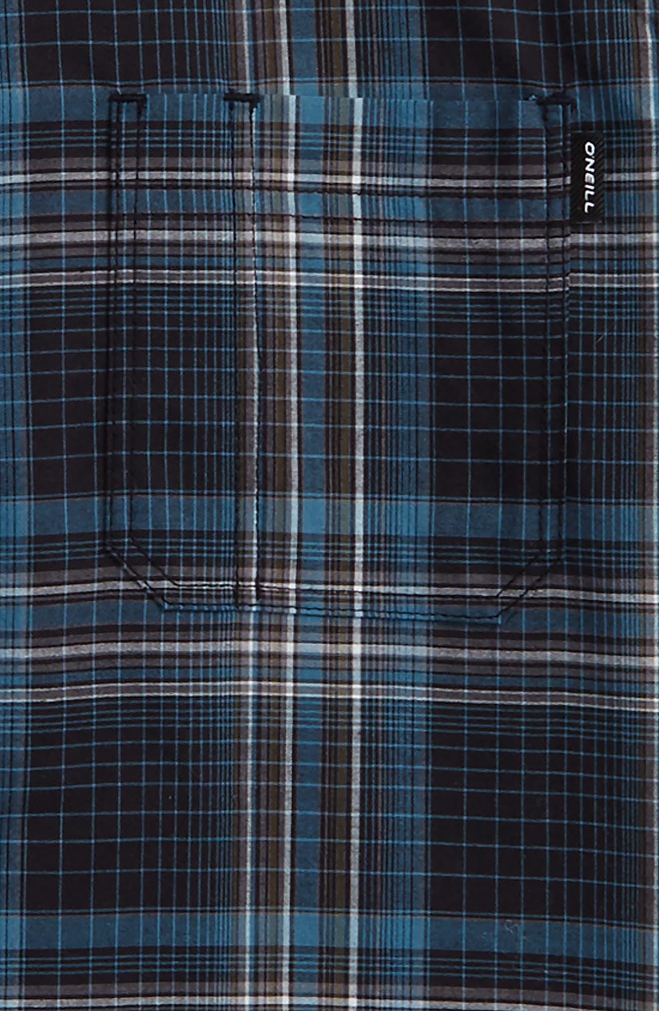 Sturghill Plaid Woven Shirt,                             Alternate thumbnail 2, color,                             Dark Navy