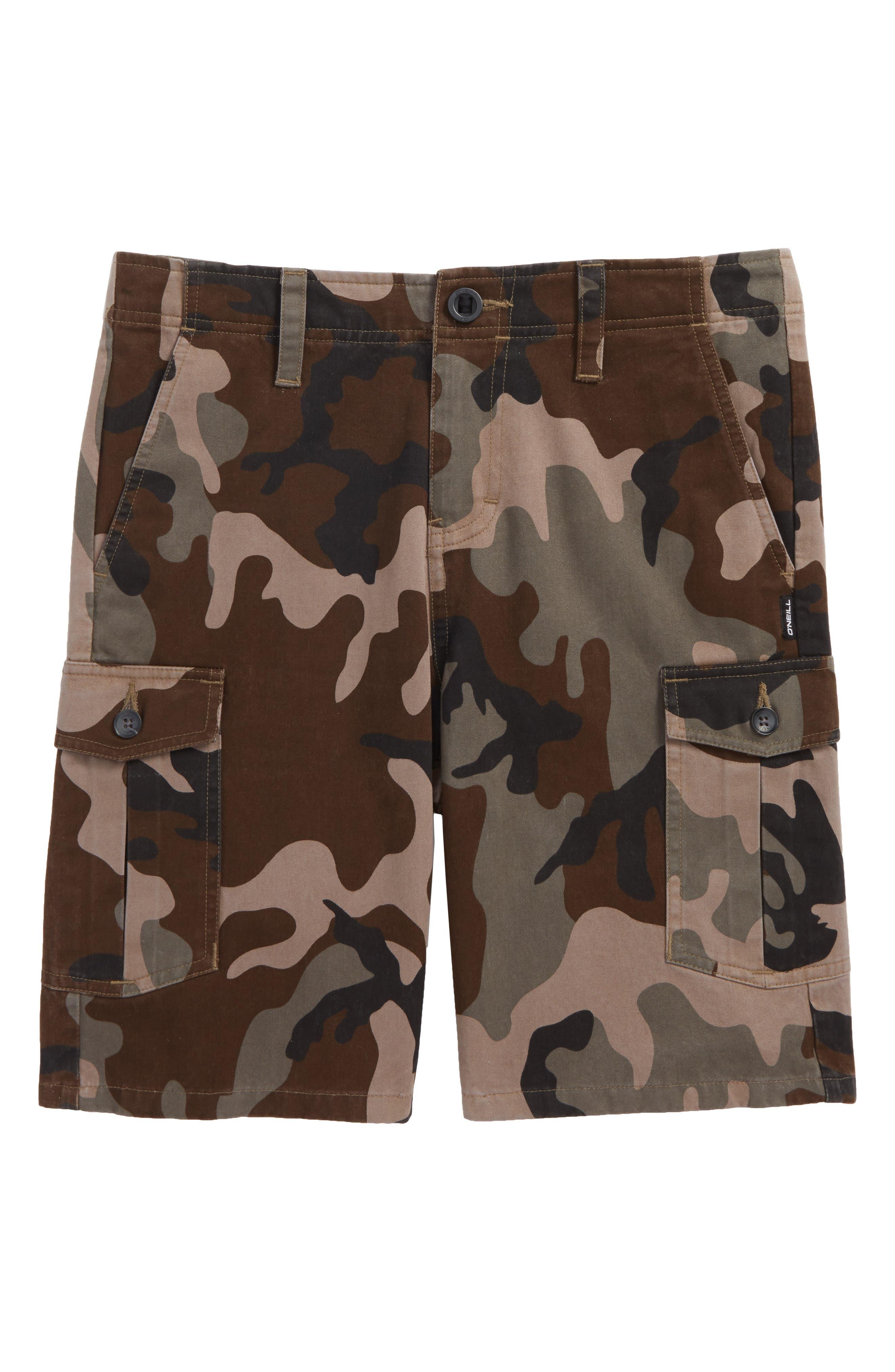 Johnny Cargo Shorts,                         Main,                         color, Camo