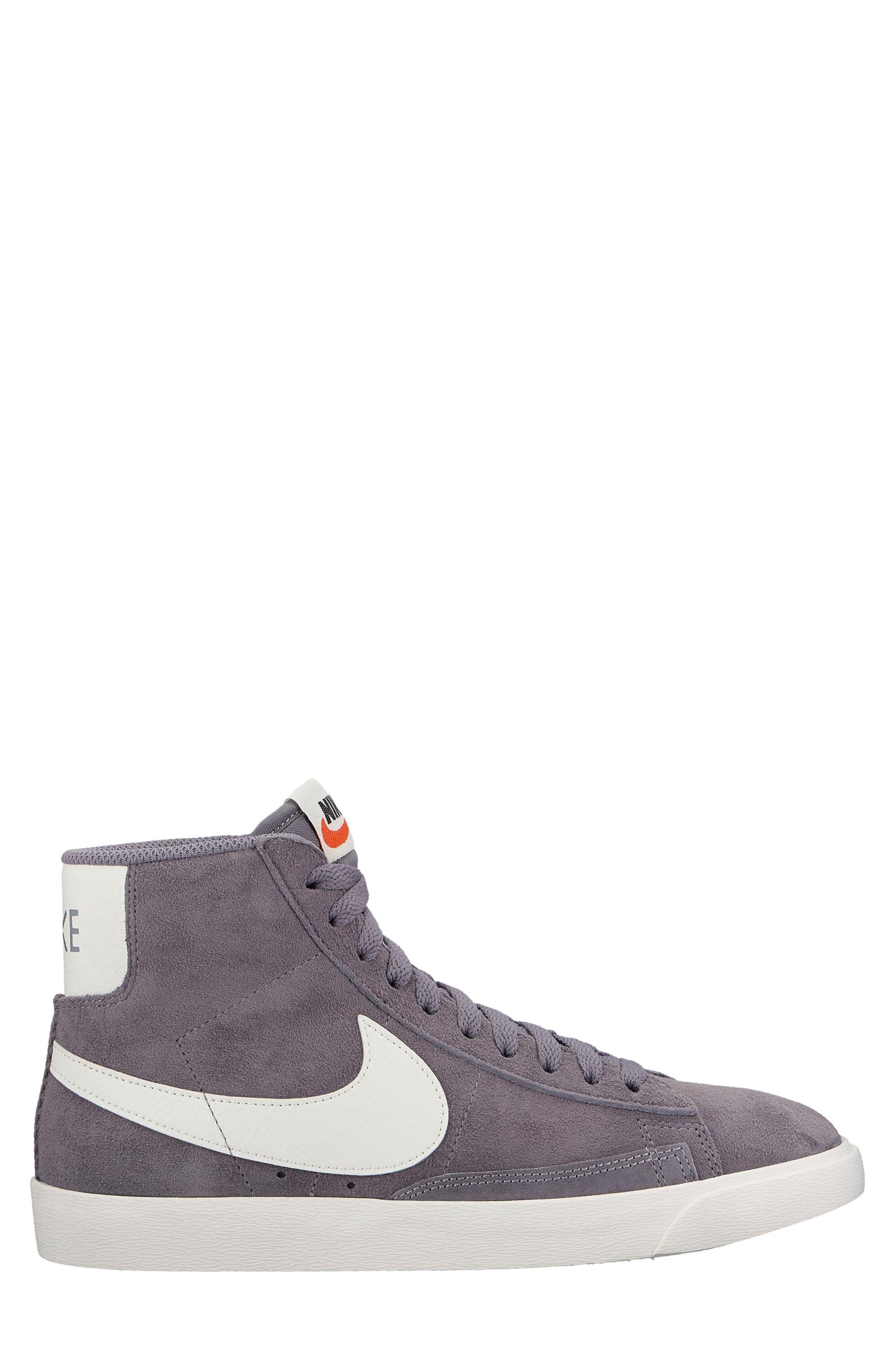 Blazer Mid Top Sneaker,                             Main thumbnail 1, color,                             Smoke/ Sail