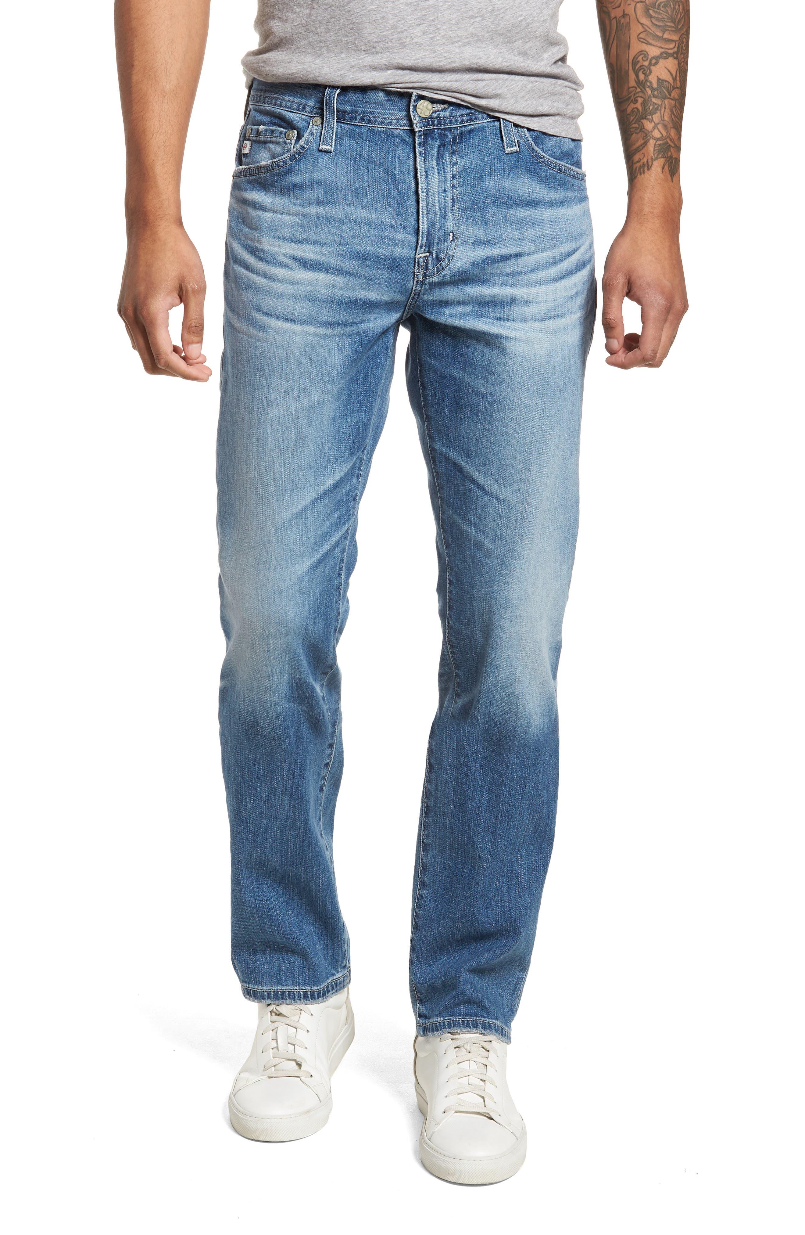 AG Everett Slim Straight Leg Jeans (14 Years Hayes)