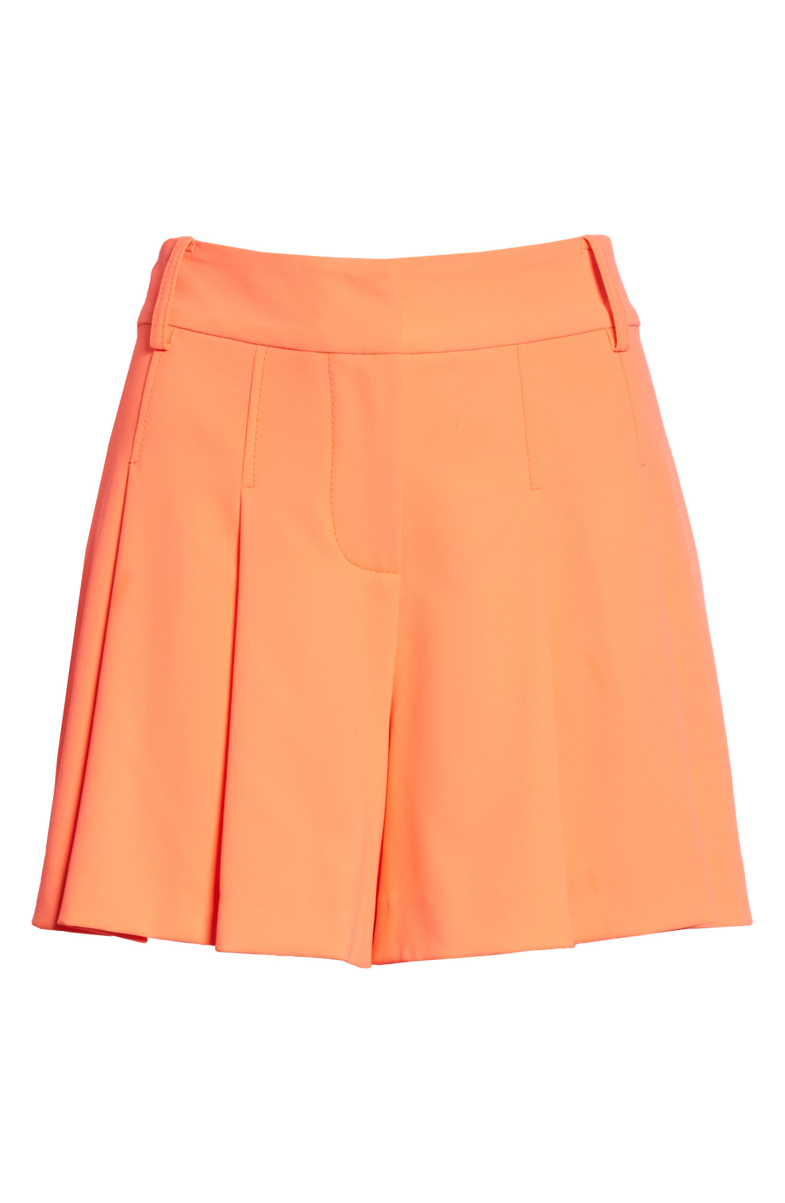 Scarlet Flutter Shorts,                             Alternate thumbnail 6, color,                             Neon Coral
