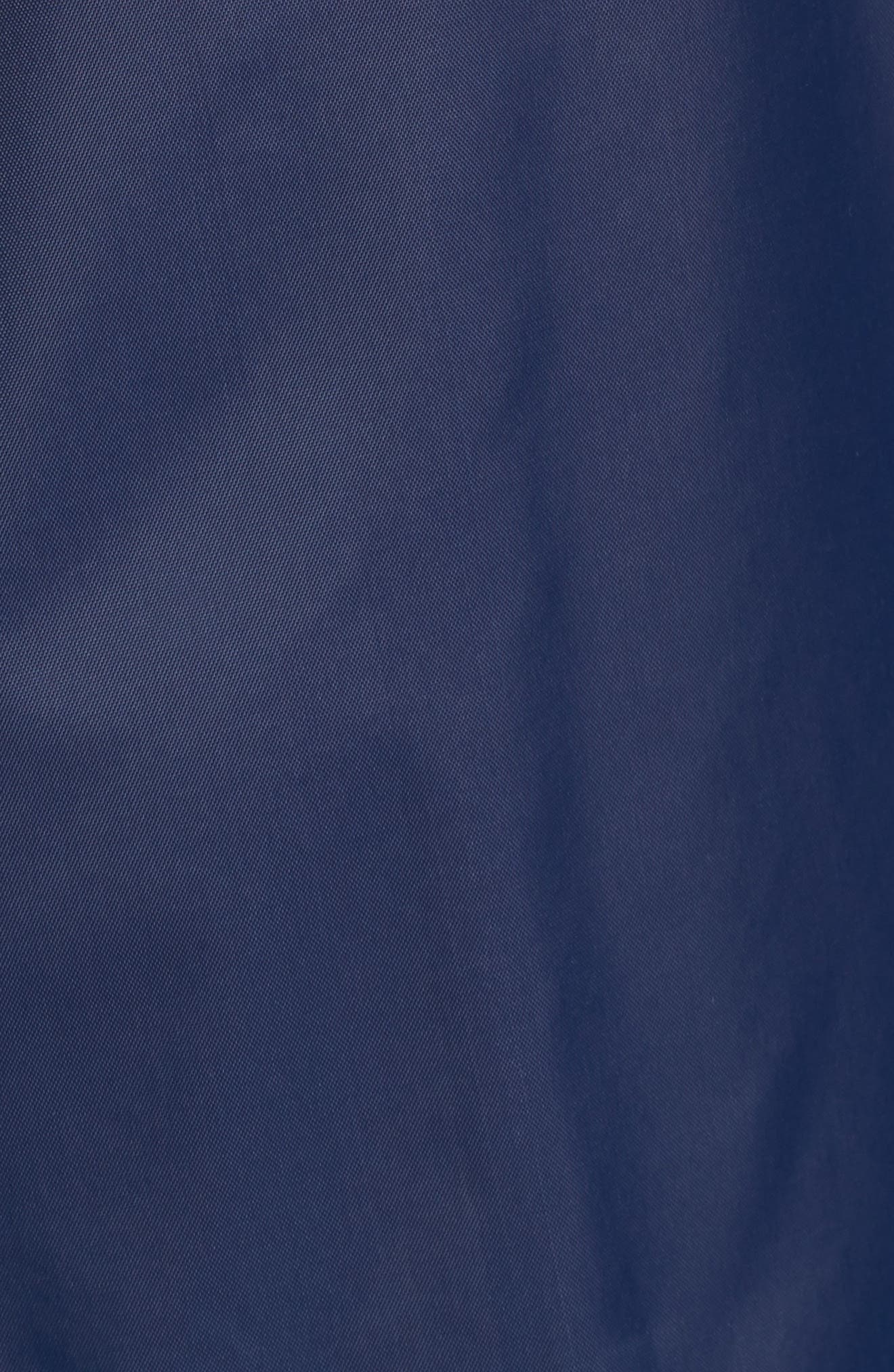 Retro Hooded Coach's Jacket,                             Alternate thumbnail 6, color,                             Navy