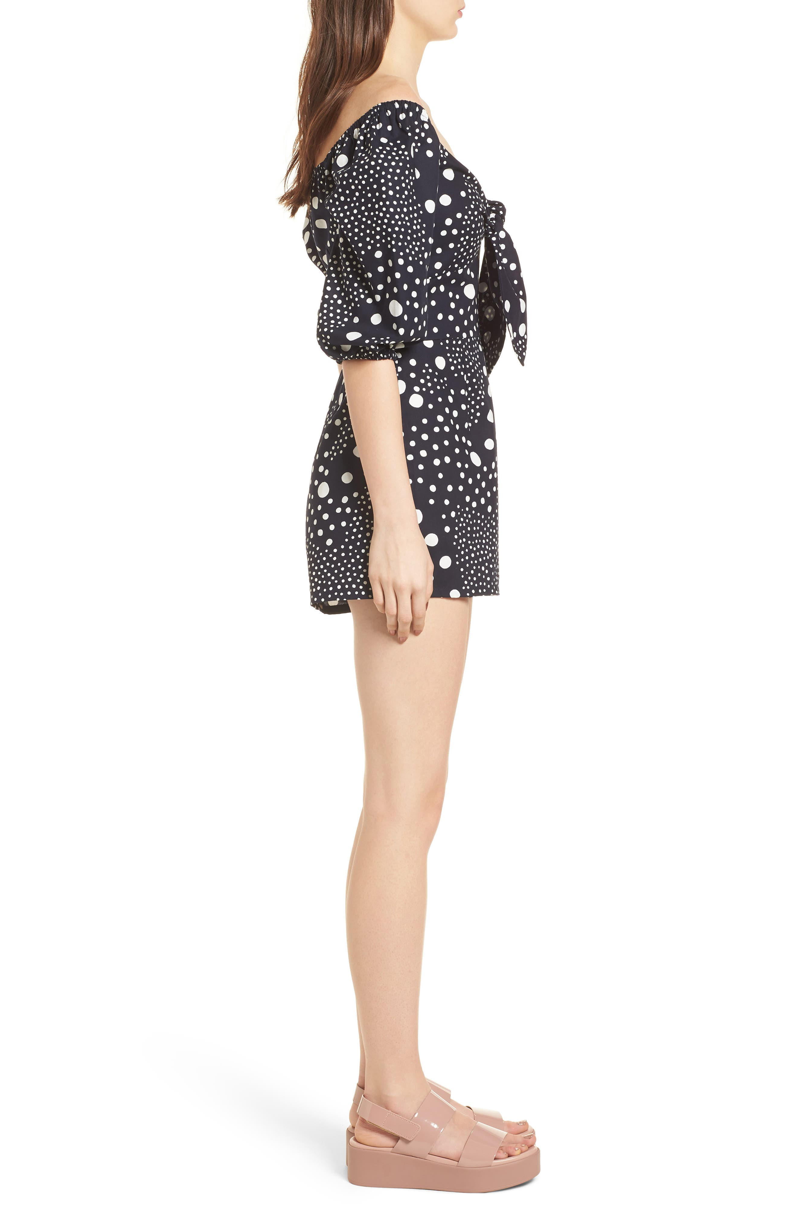 Alternate Image 4  - The Fifth Label Lagoon Puff Sleeve Romper