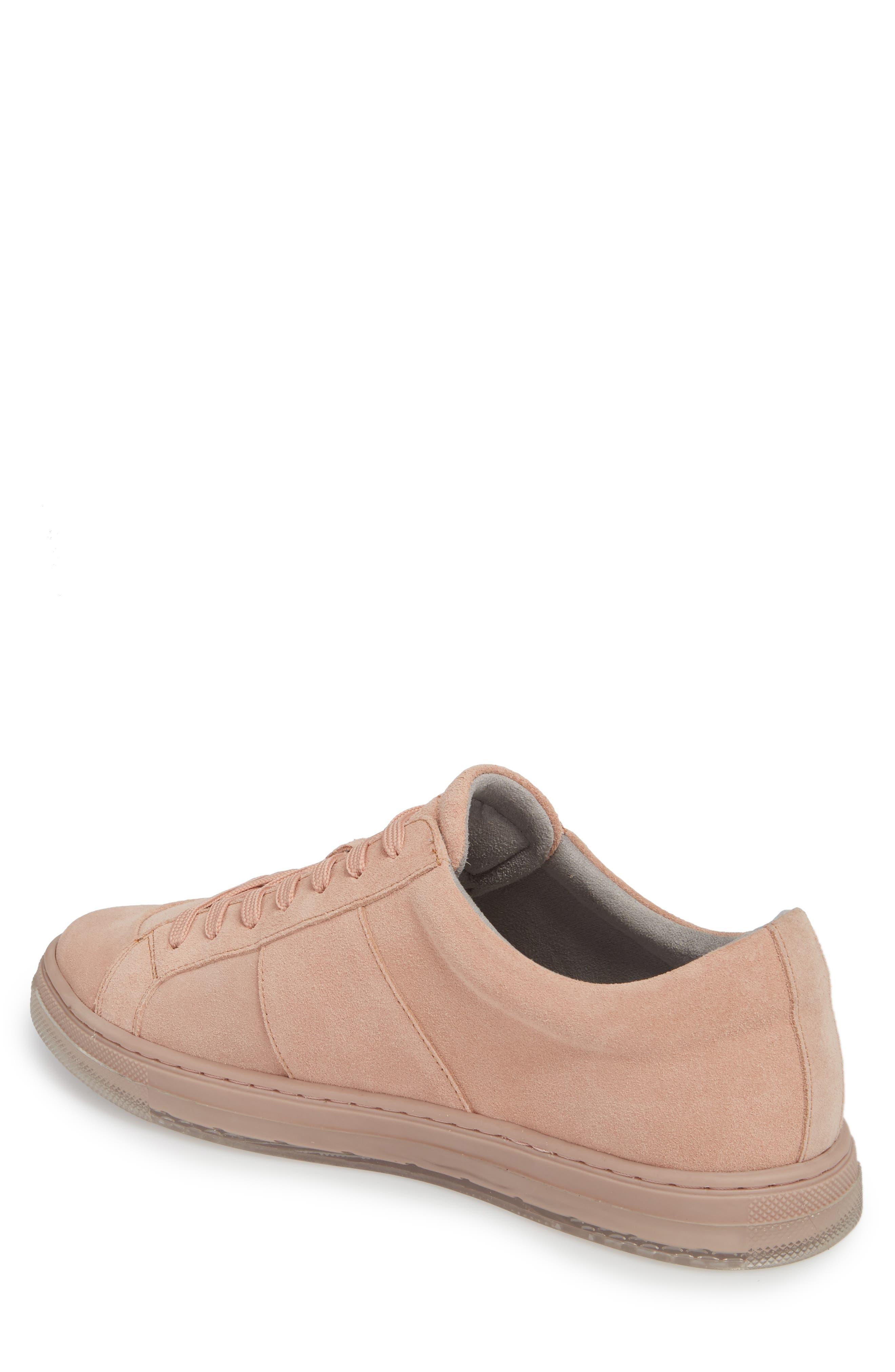 Colvin Sneaker,                             Alternate thumbnail 2, color,                             Rose Suede