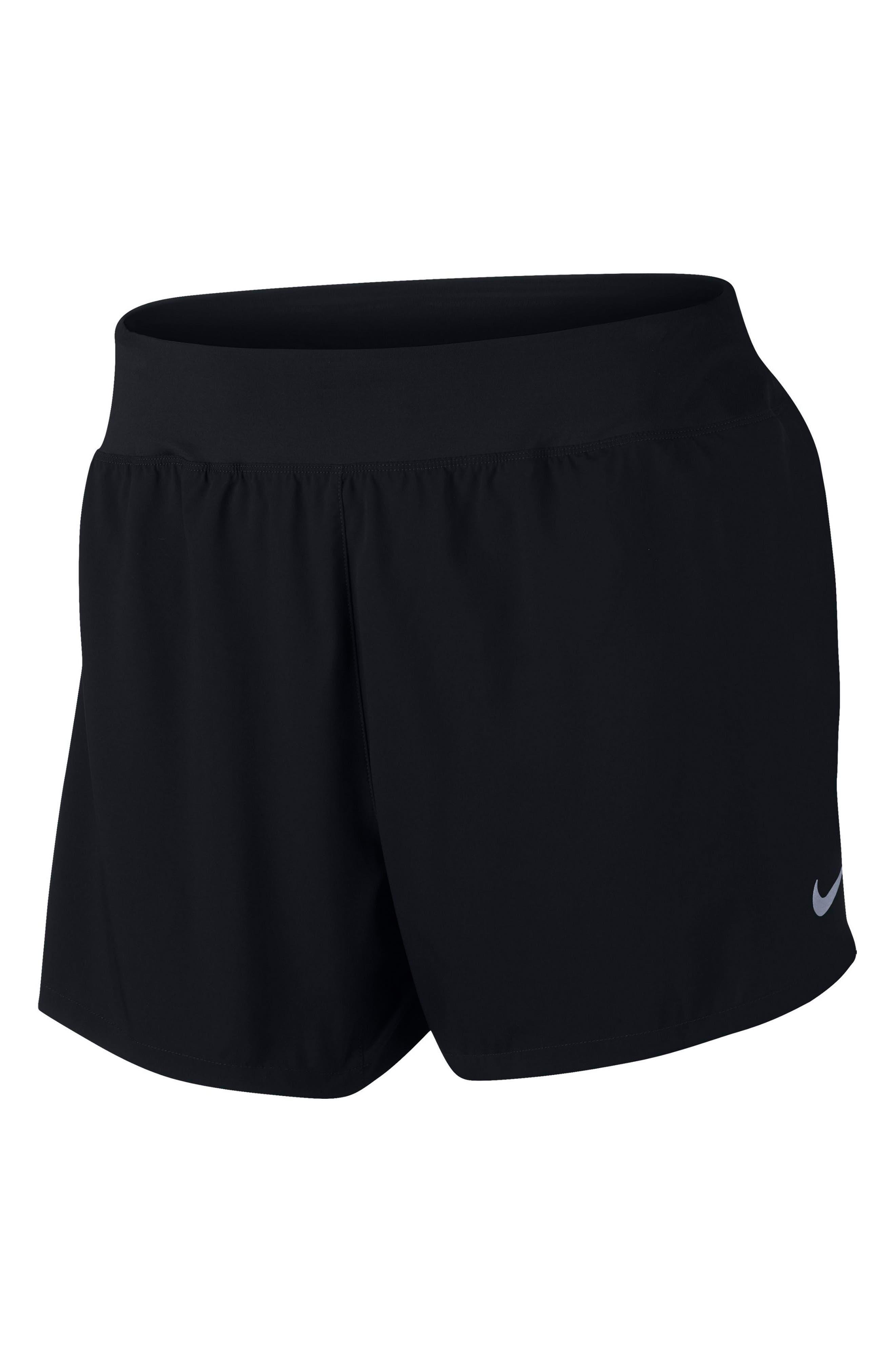 Flex Dry Running Shorts,                         Main,                         color, Black