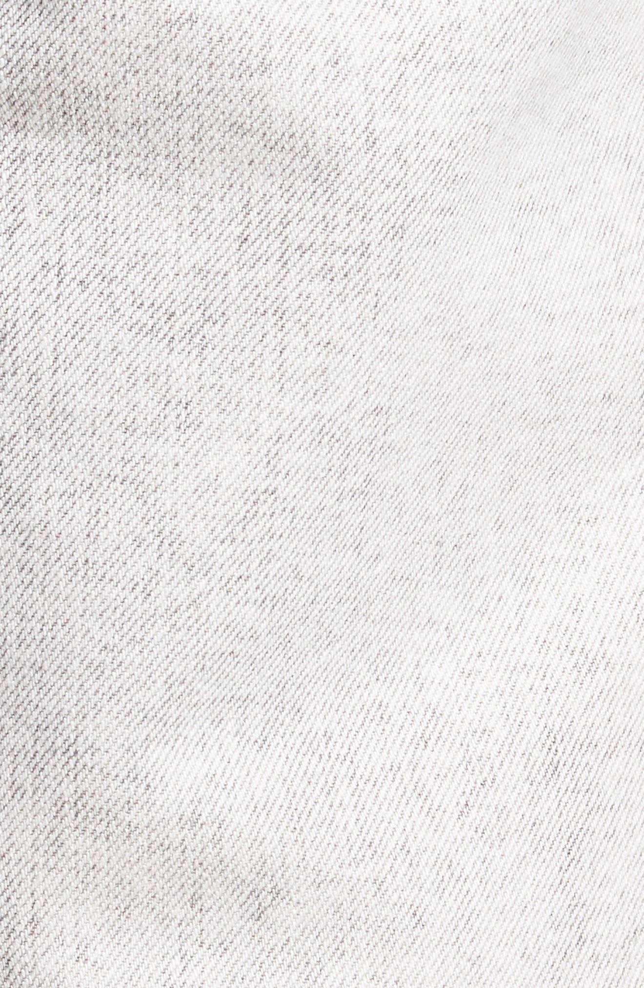 Dr. Denim Jeansmaker Otis Straight Fit Jeans,                             Alternate thumbnail 6, color,                             Dirty White