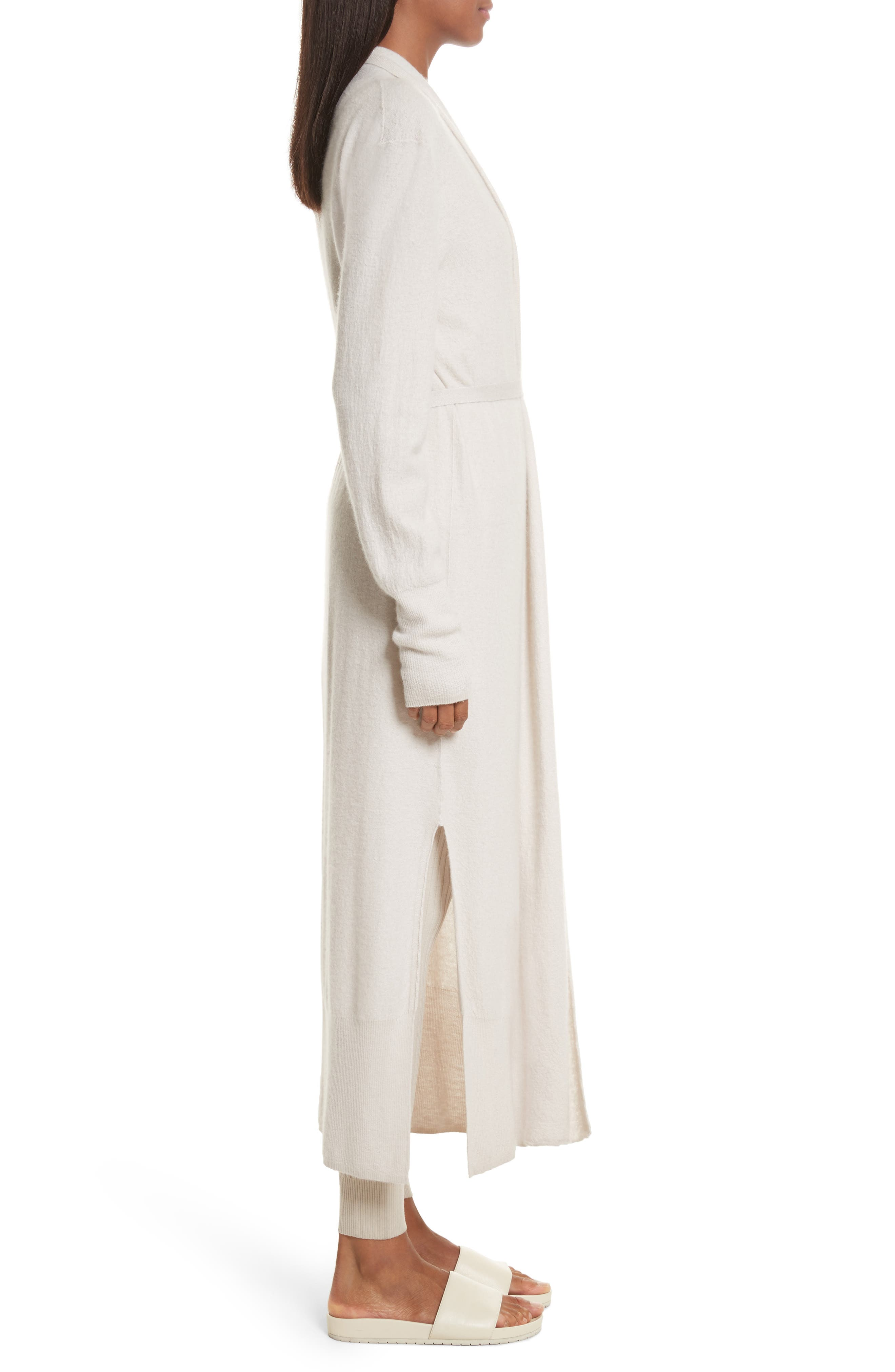 Alternate Image 3  - Vince Side Slit Long Cardigan