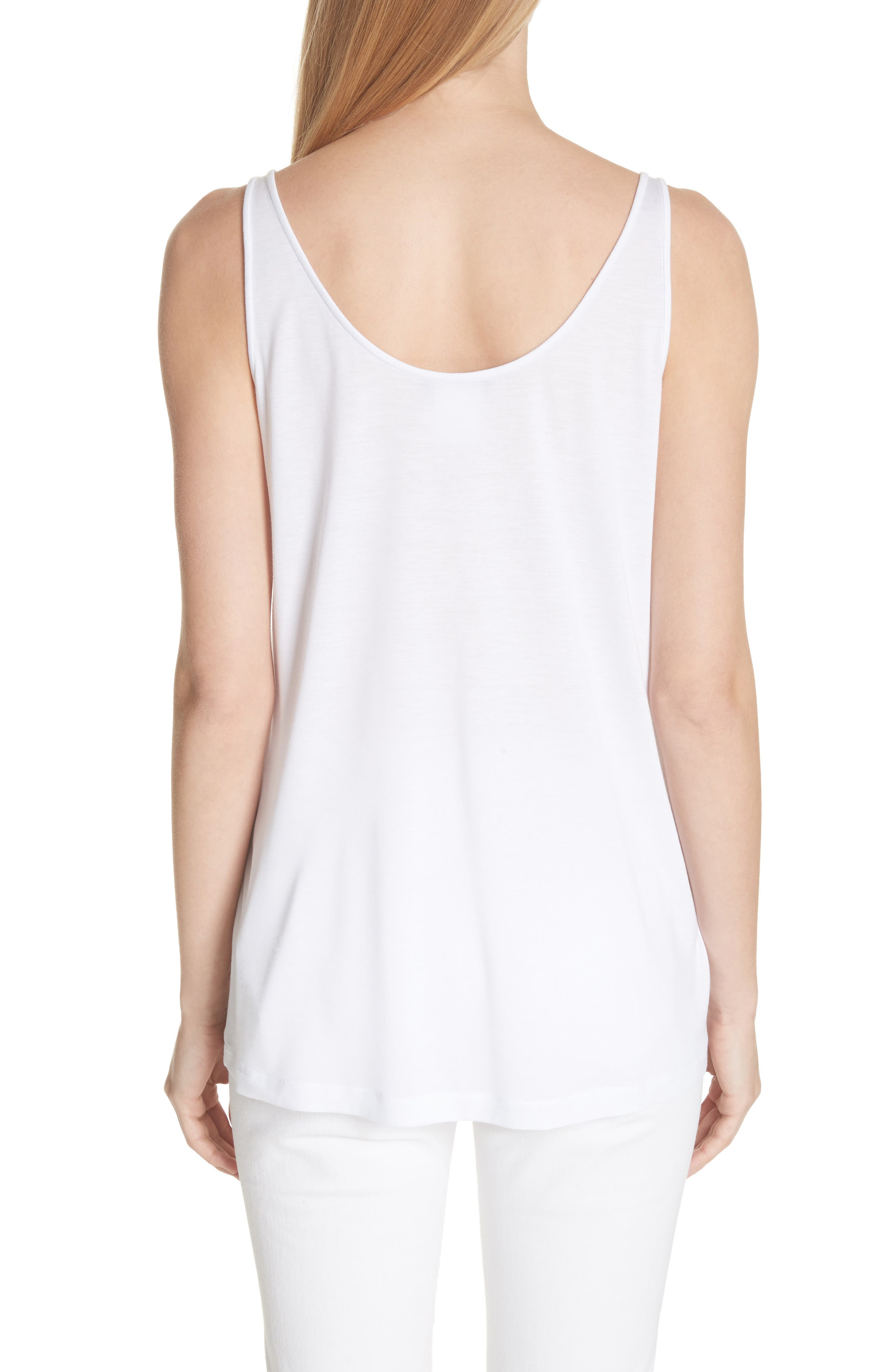 Ivy Tank Top,                             Alternate thumbnail 2, color,                             White