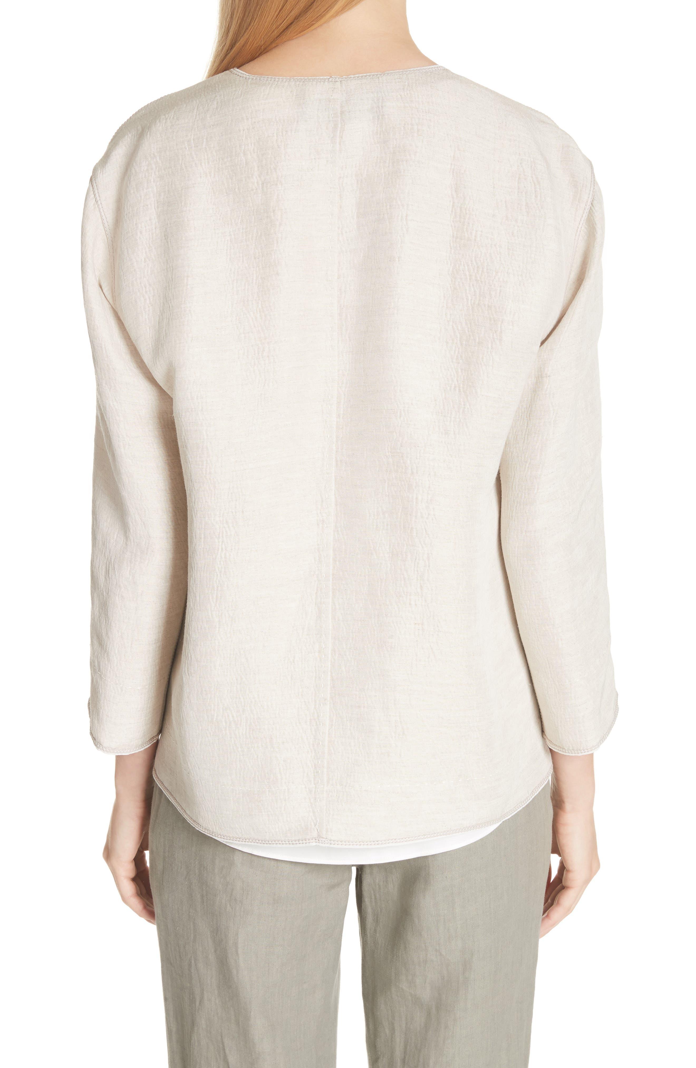 Milo Textured Jacket,                             Alternate thumbnail 2, color,                             Khaki Multi