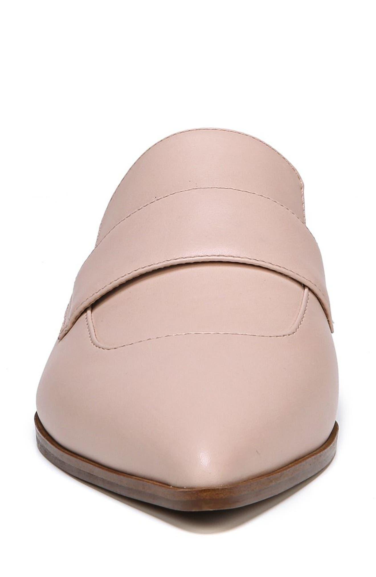 Palmer Mule,                             Alternate thumbnail 4, color,                             Blush Leather