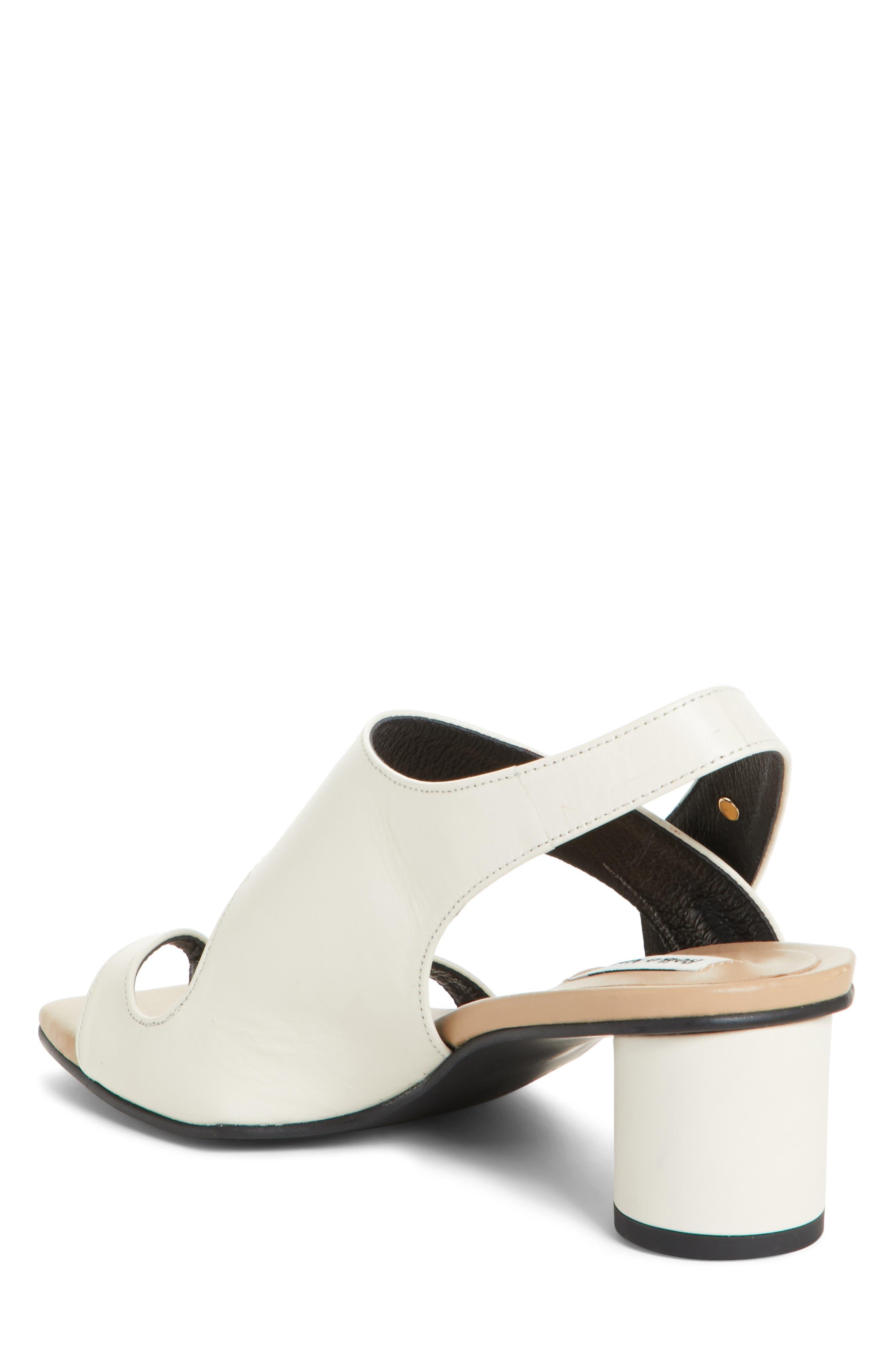 Embellished Leather Sandal,                             Alternate thumbnail 3, color,                             Beige Cream