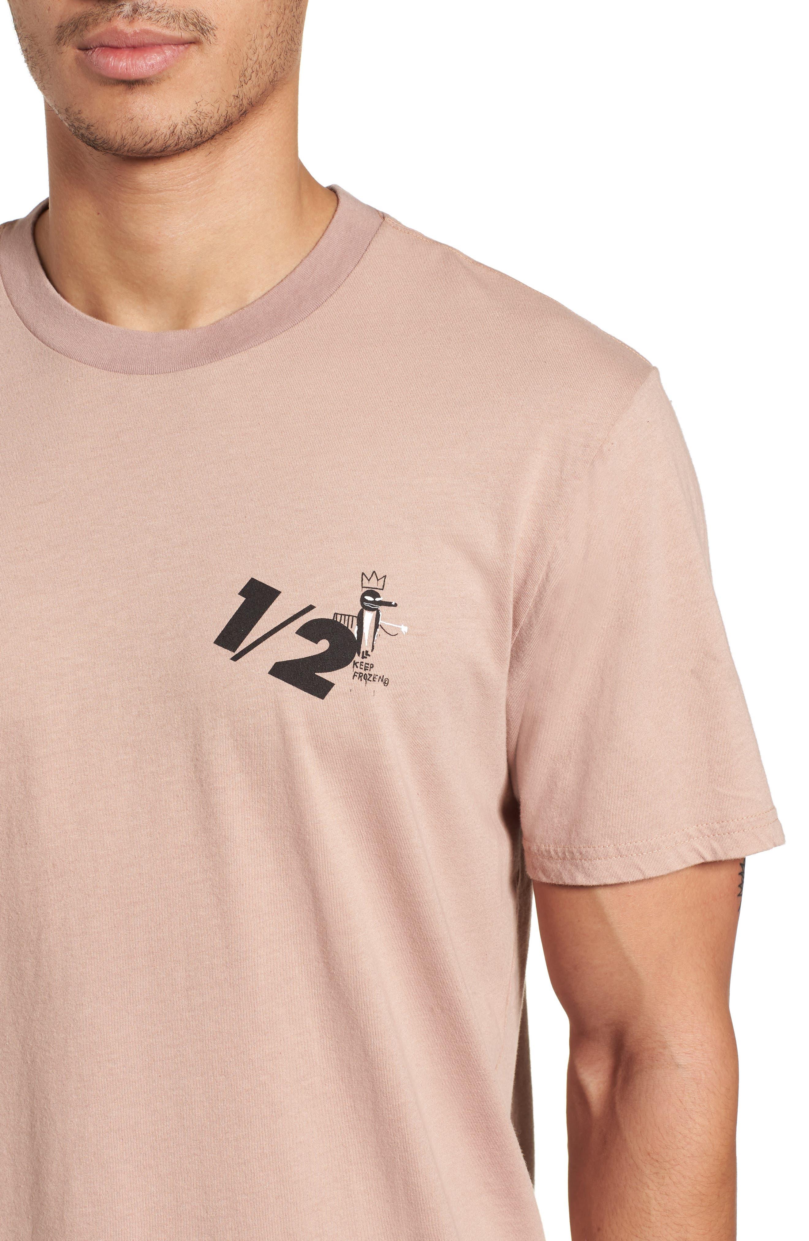 x Warhol Half T-Shirt,                             Alternate thumbnail 4, color,                             Ash Rose