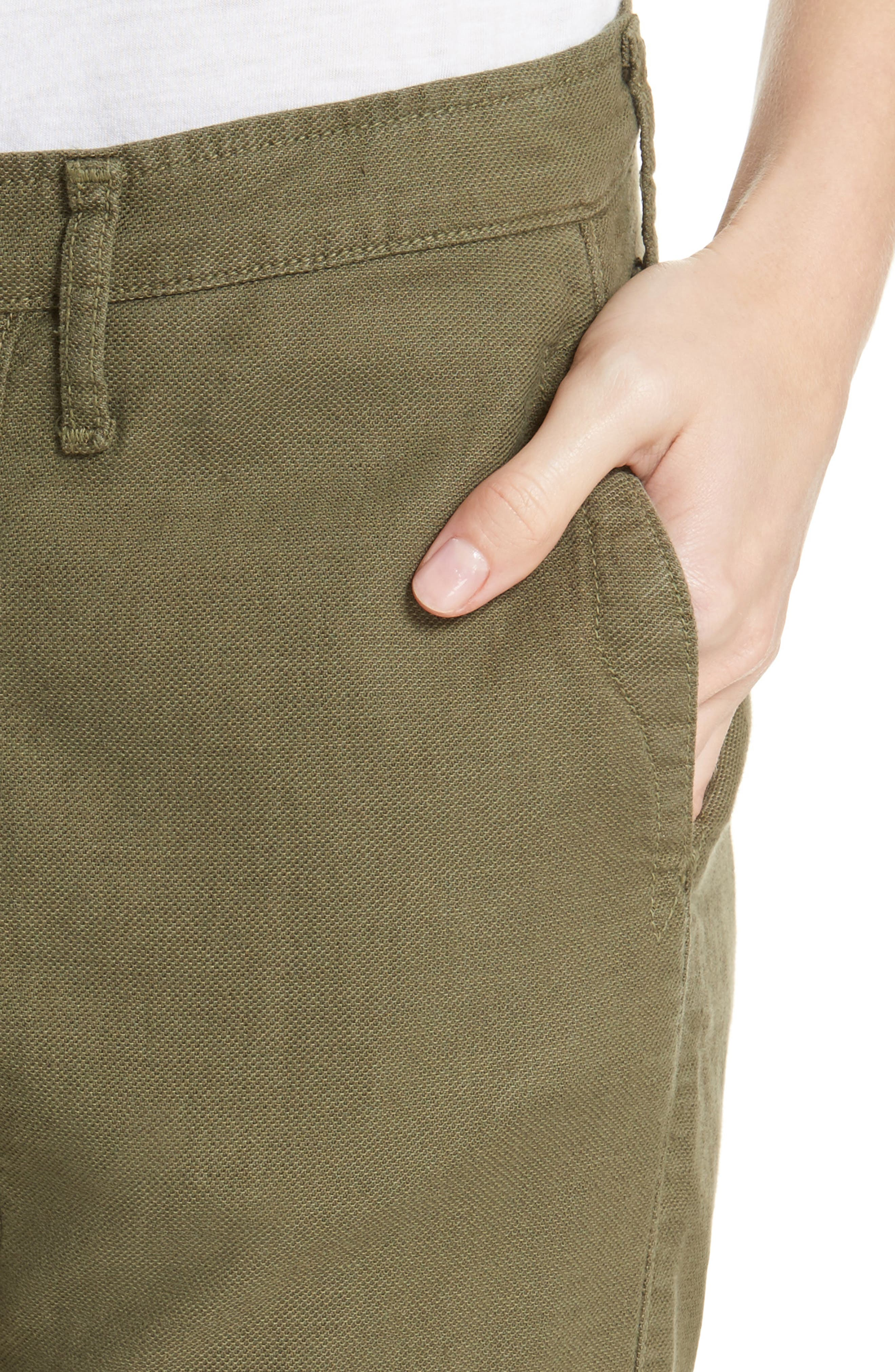 The Saddle Trouser,                             Alternate thumbnail 4, color,                             Army