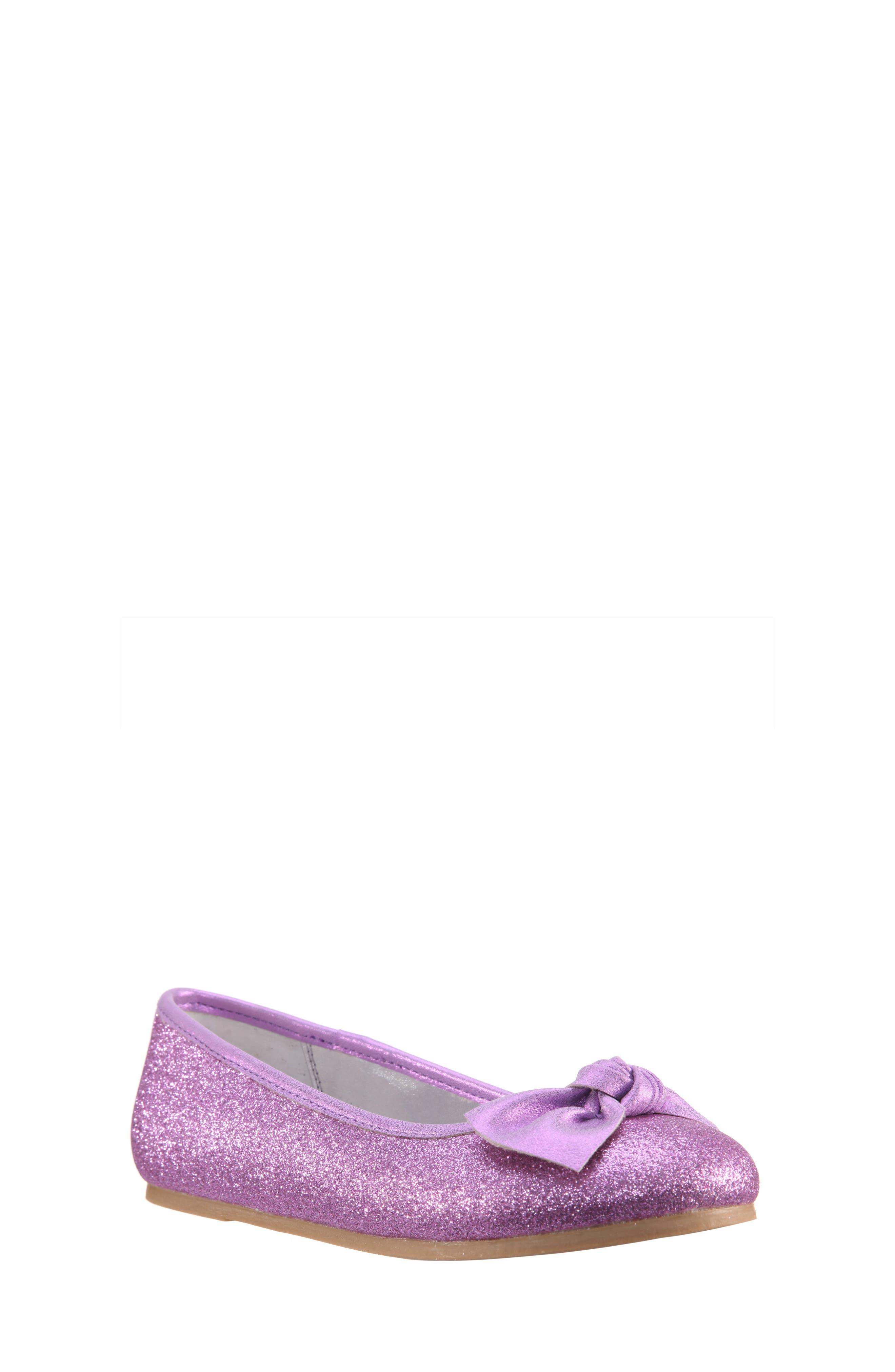 Nina Larabeth Glitter Ballet Flat (Little Kid & Big Kid)