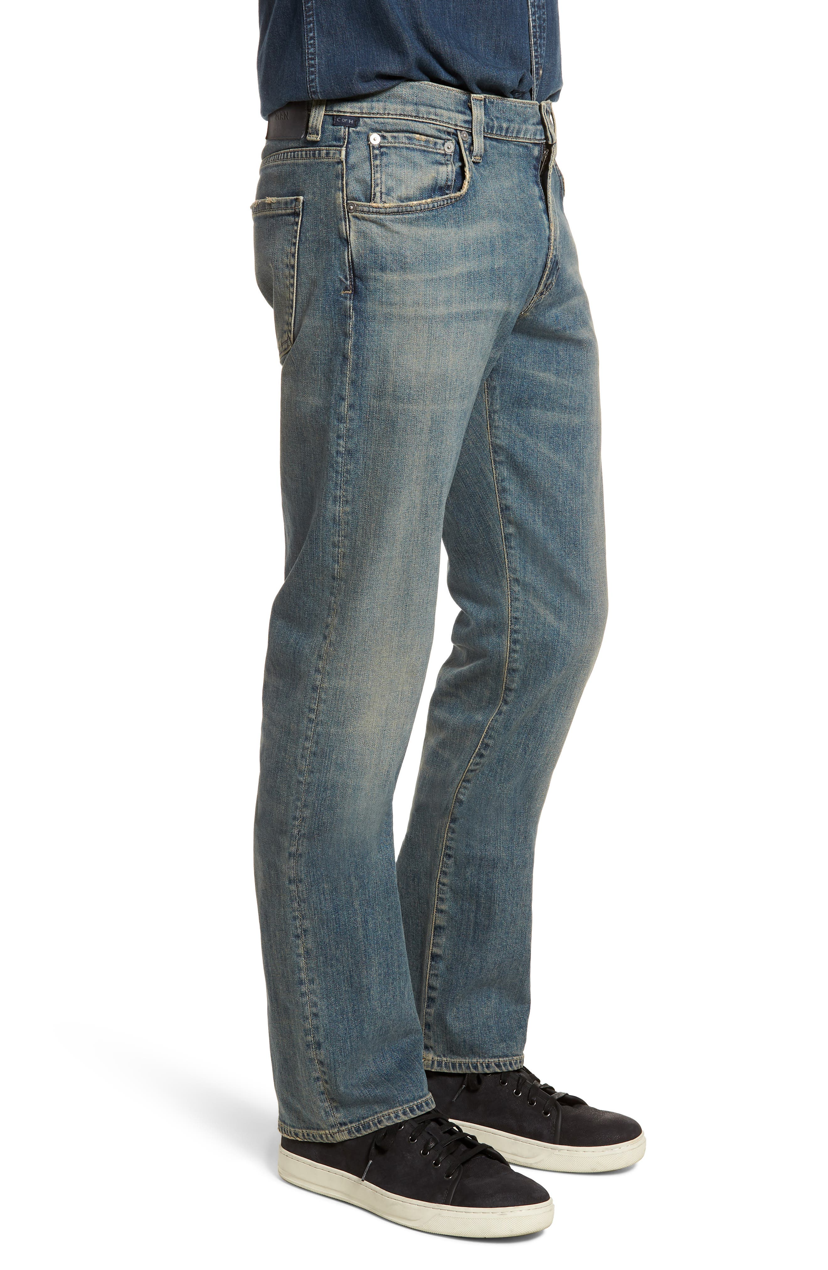 Sid Straight Leg Jeans,                             Alternate thumbnail 3, color,                             Hillcrest