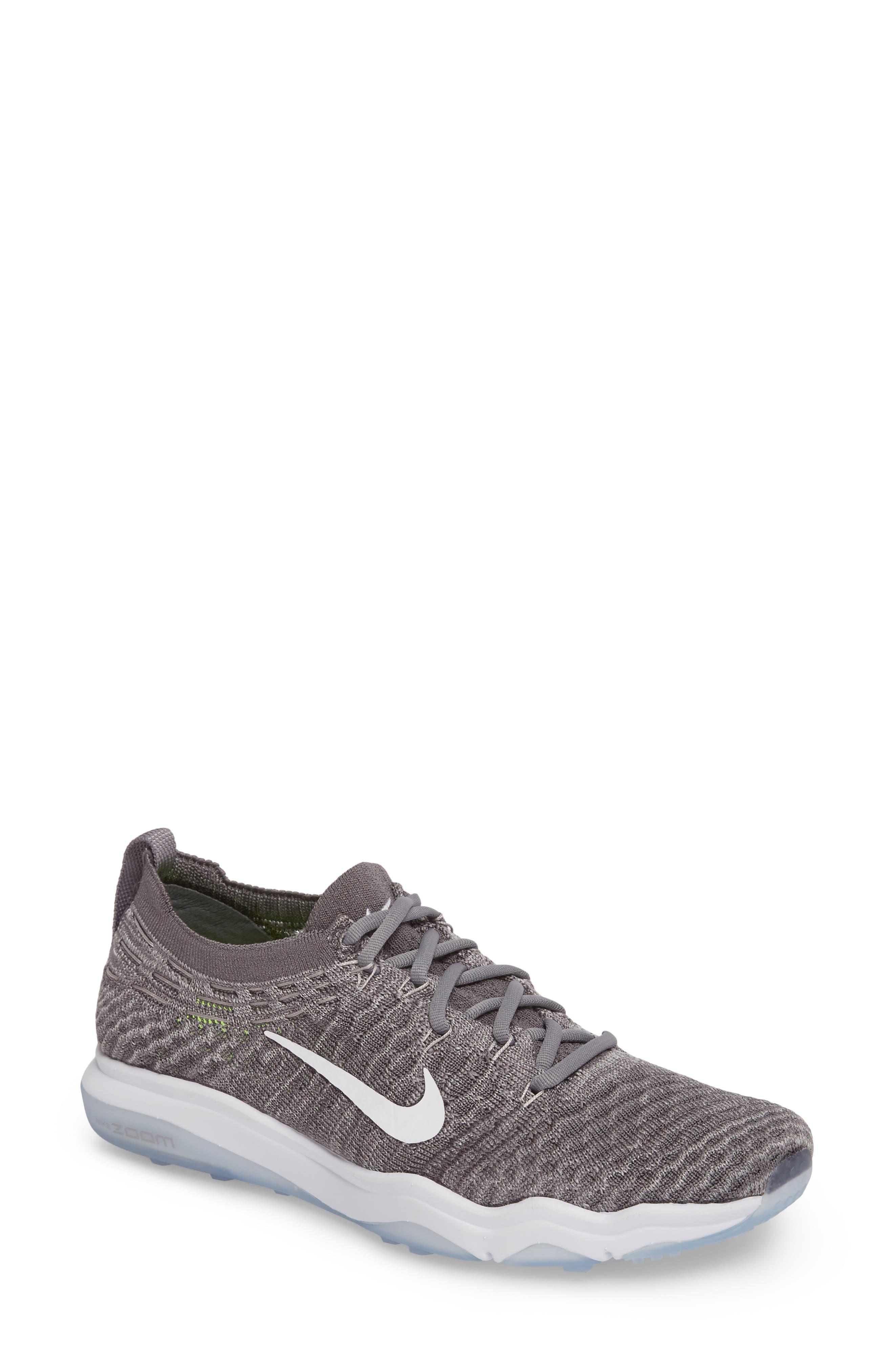 Alternate Image 1 Selected - Nike Air Zoom Fearless Flyknit Lux Training Shoe (Women)