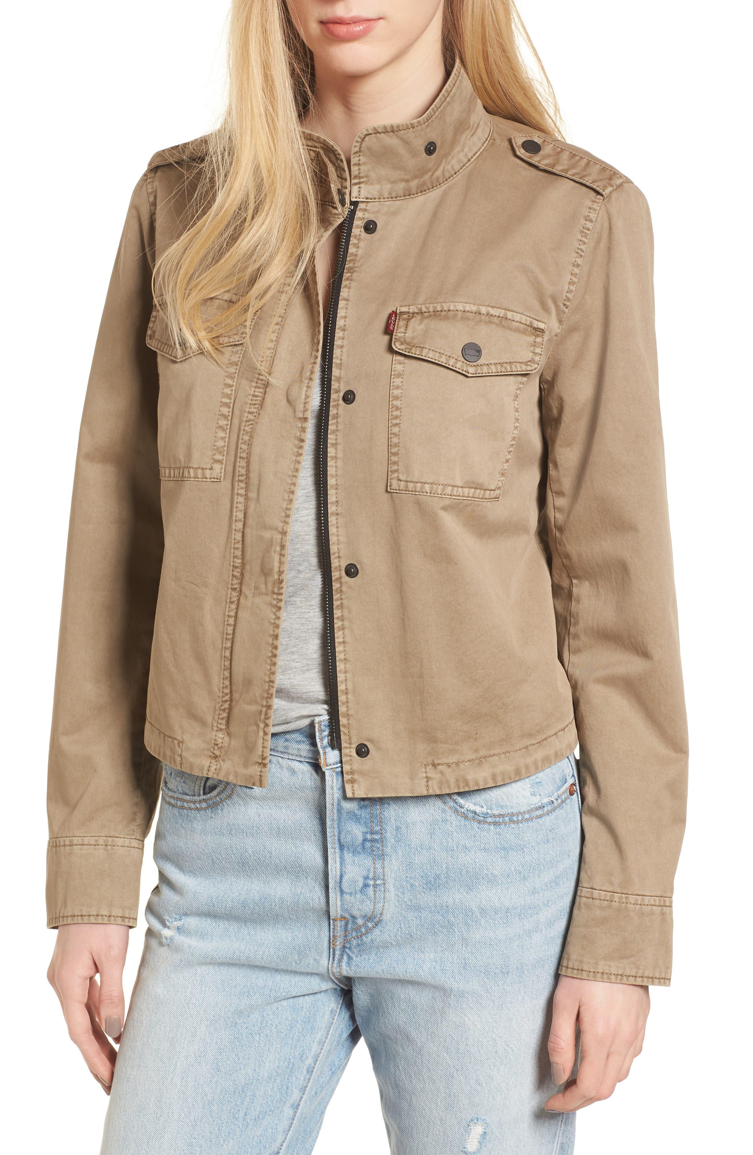 Levi's® Crop Military Jacket