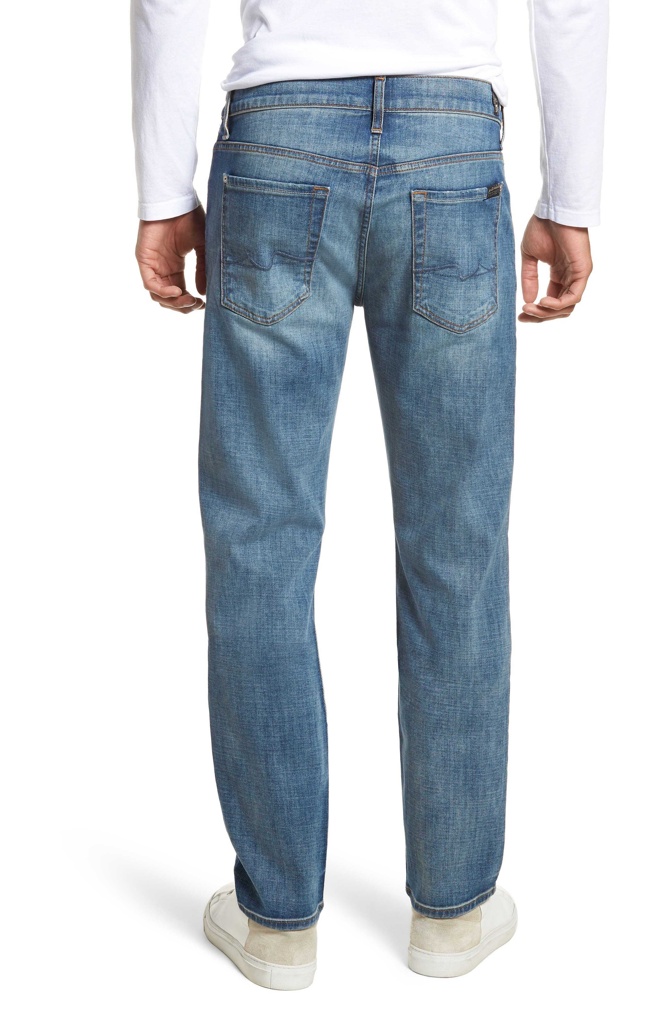 7 For All Mankind Slimmy Slim Fit Jeans,                             Alternate thumbnail 2, color,                             Desert Warrior