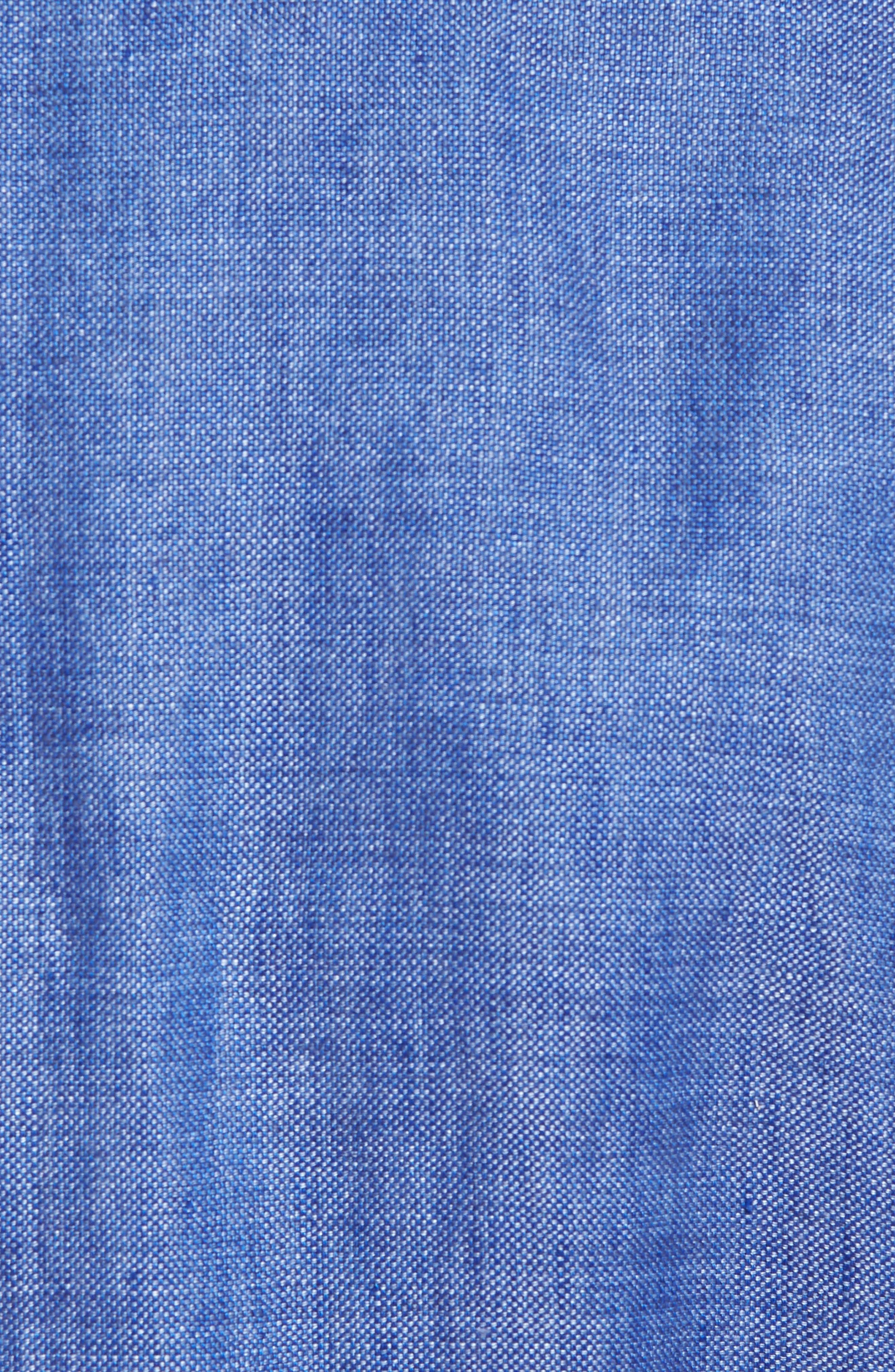 Aiden Classic Fit Linen Blazer,                             Alternate thumbnail 5, color,                             Blue