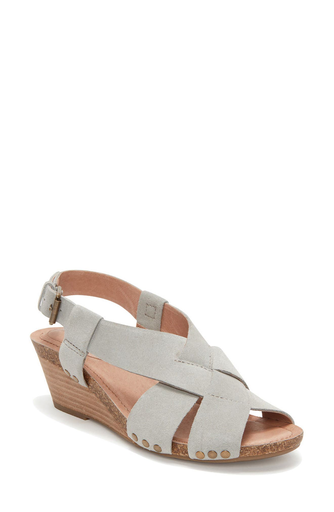 Adam Tucker Tarin Wedge Sandal (Women)