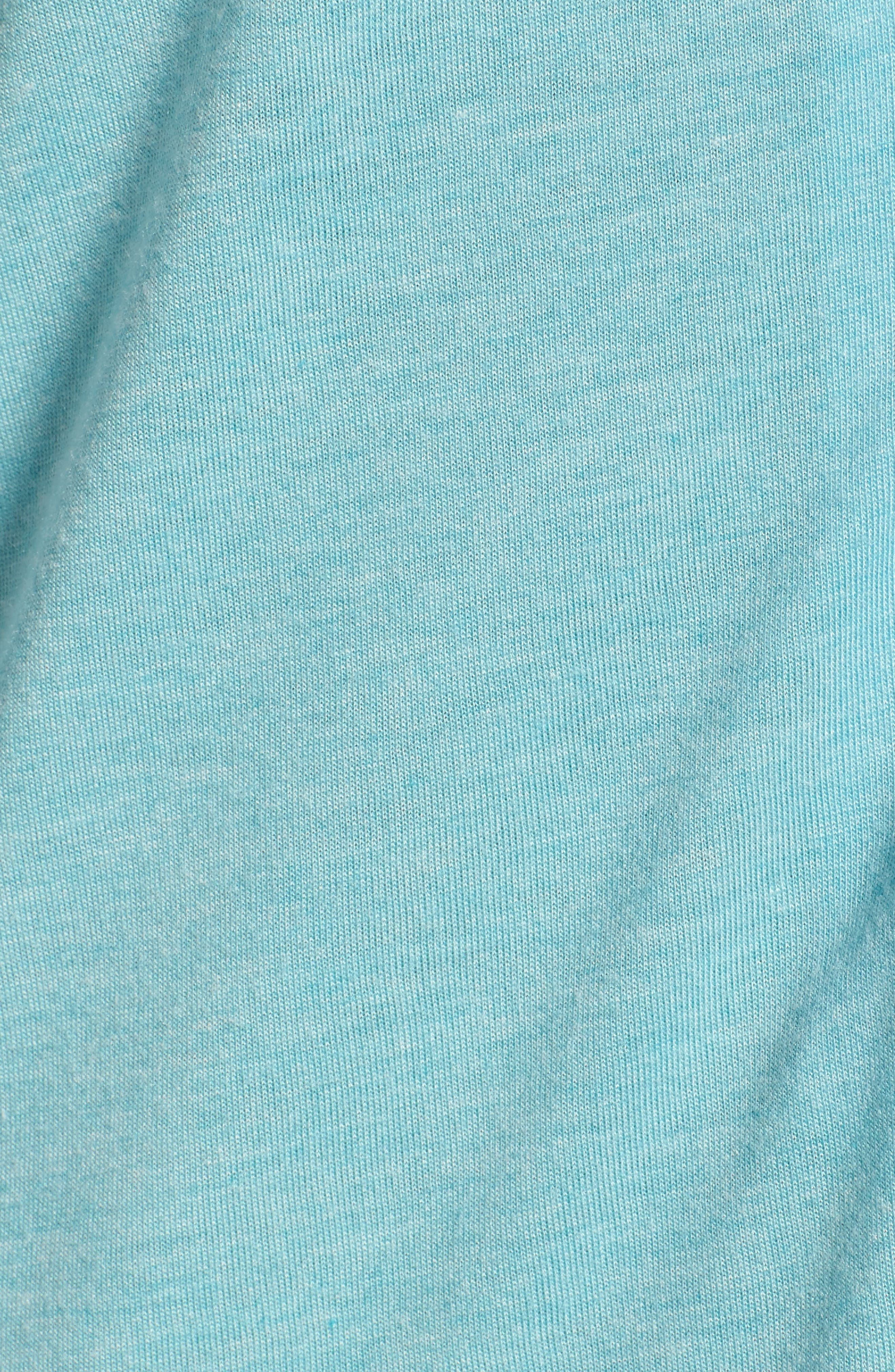 Shangri-La Sleep Shirt,                             Alternate thumbnail 6, color,                             Turquoise