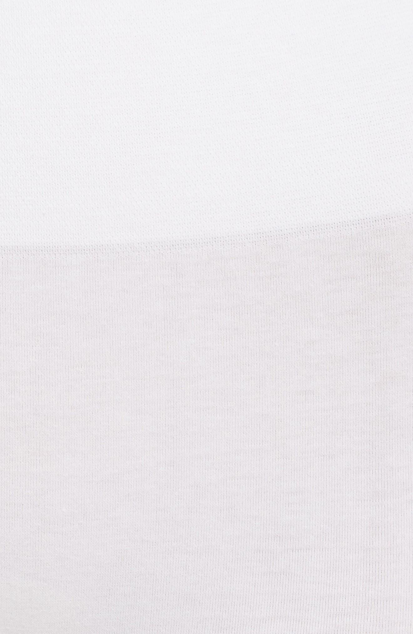 Seamless Shaping Shorts,                             Alternate thumbnail 7, color,                             White