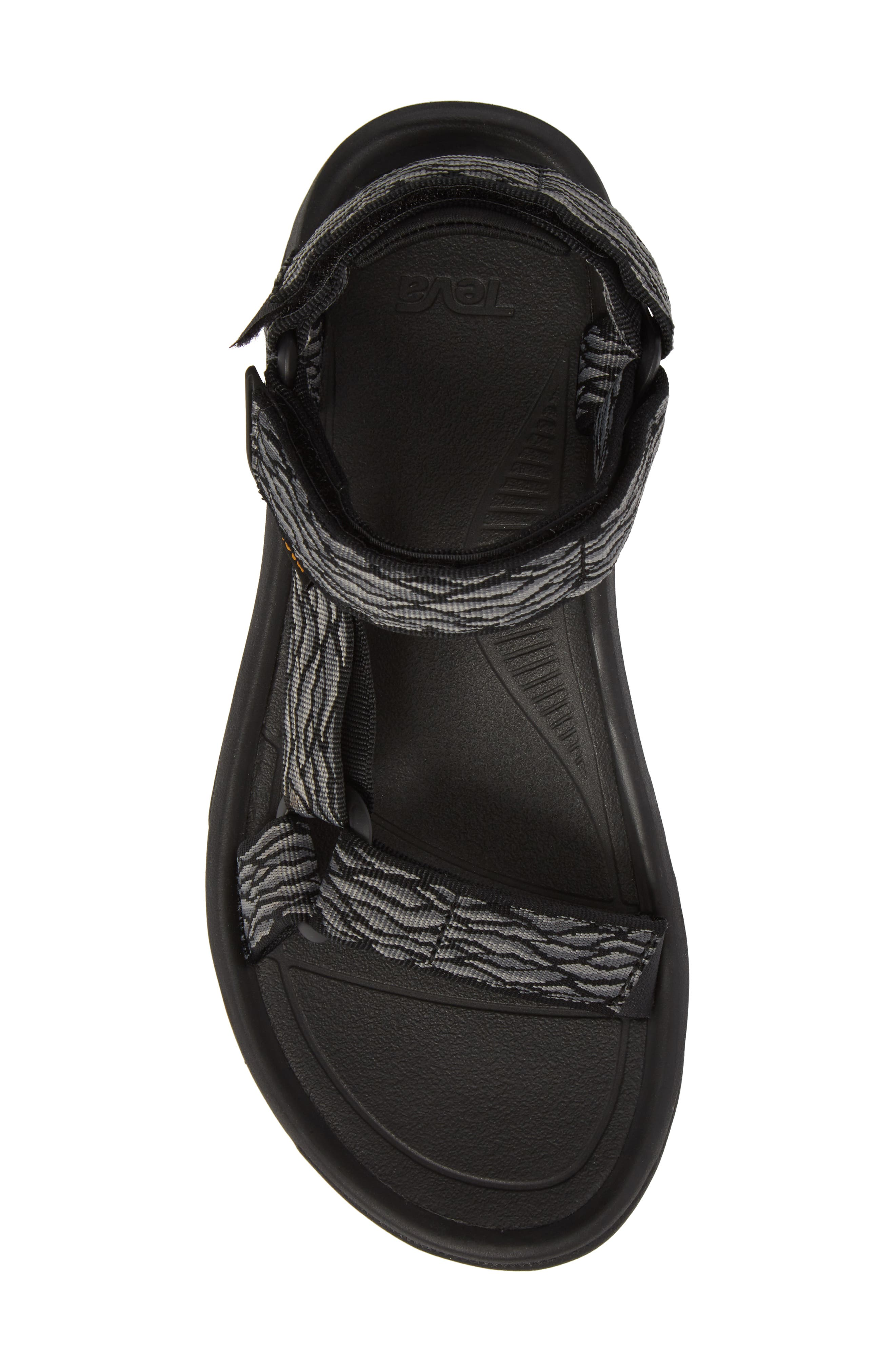 Hurricane XLT 2 Sandal,                             Alternate thumbnail 5, color,                             Black/ Grey Nylon