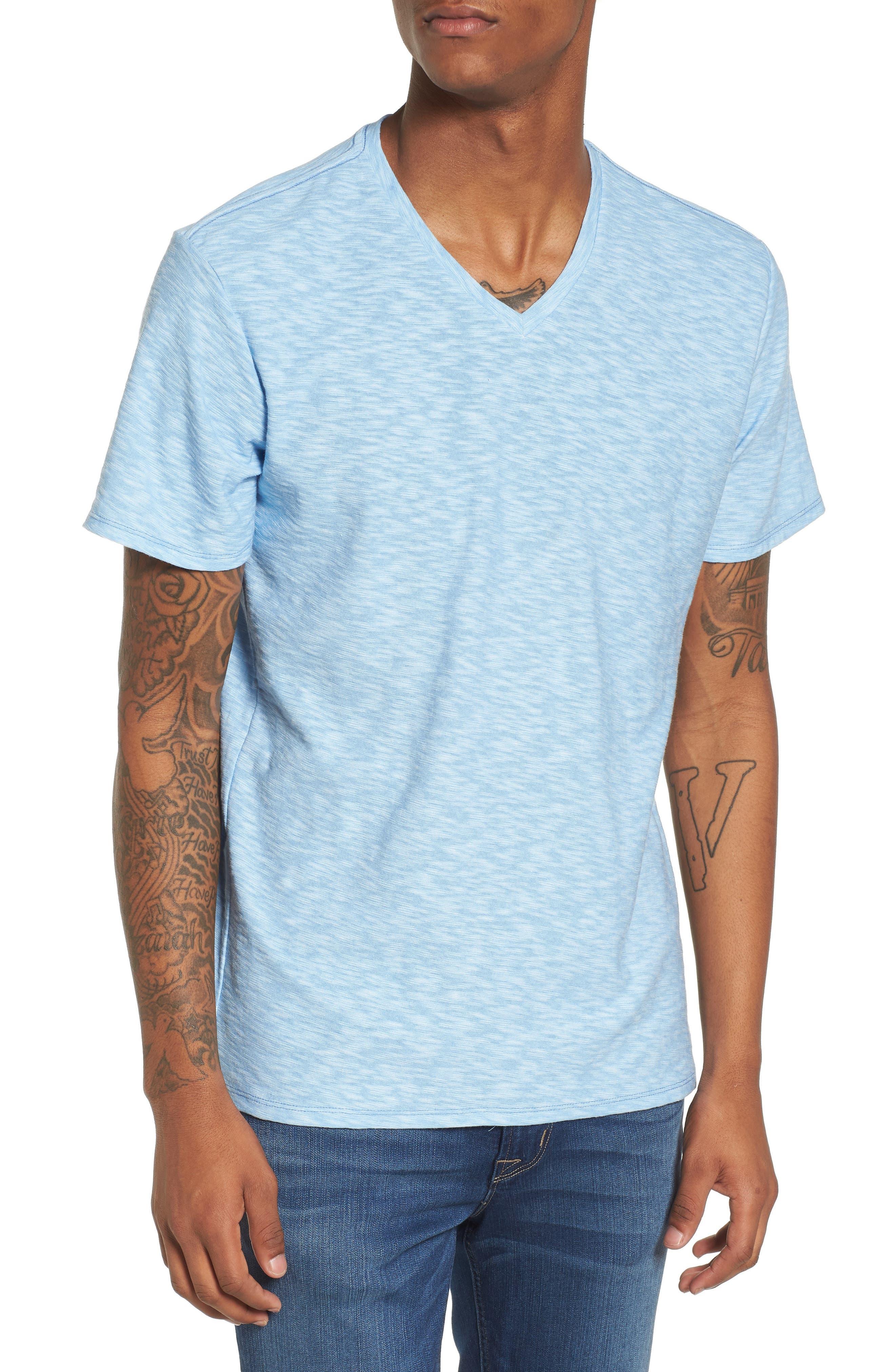 The Rail Slub Knit V-Neck T-Shirt