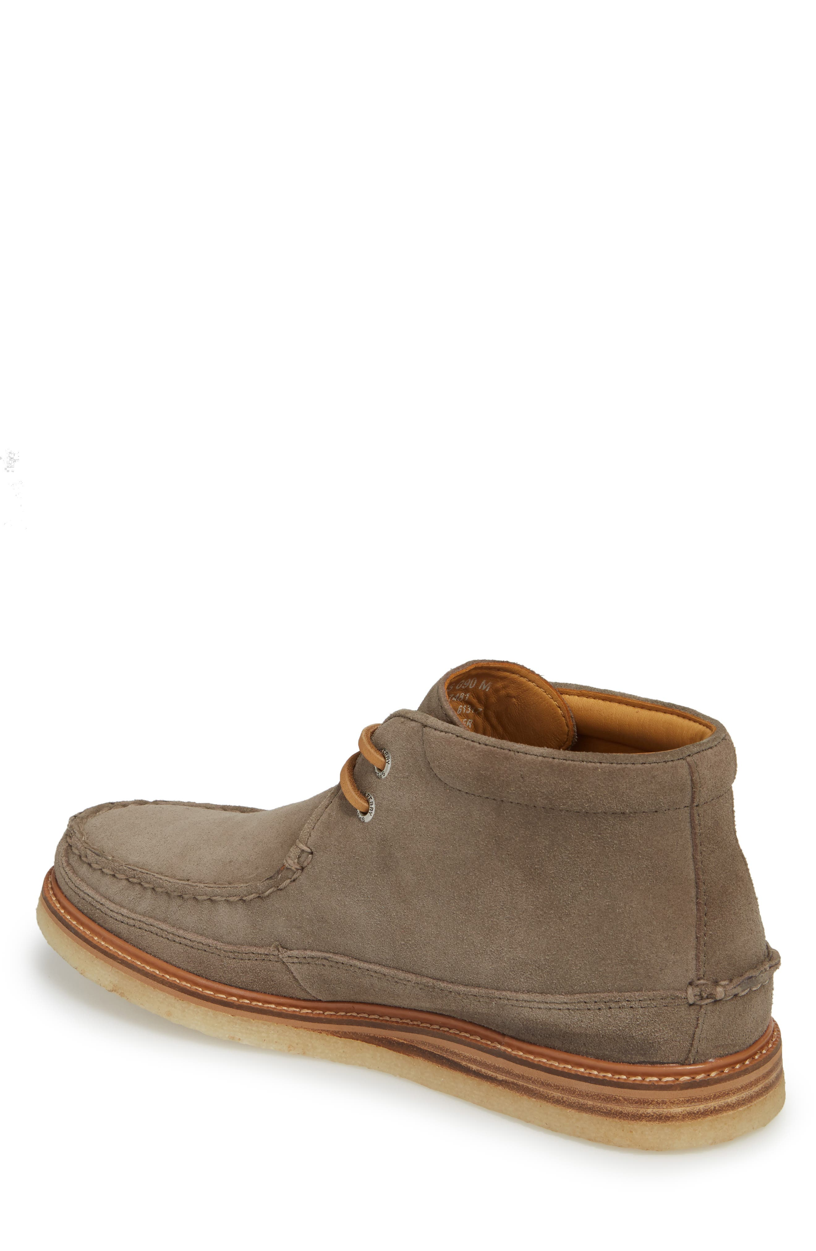 Gold Cup Chukka Boot,                             Alternate thumbnail 2, color,                             Taupe Grey Leather/ Suede