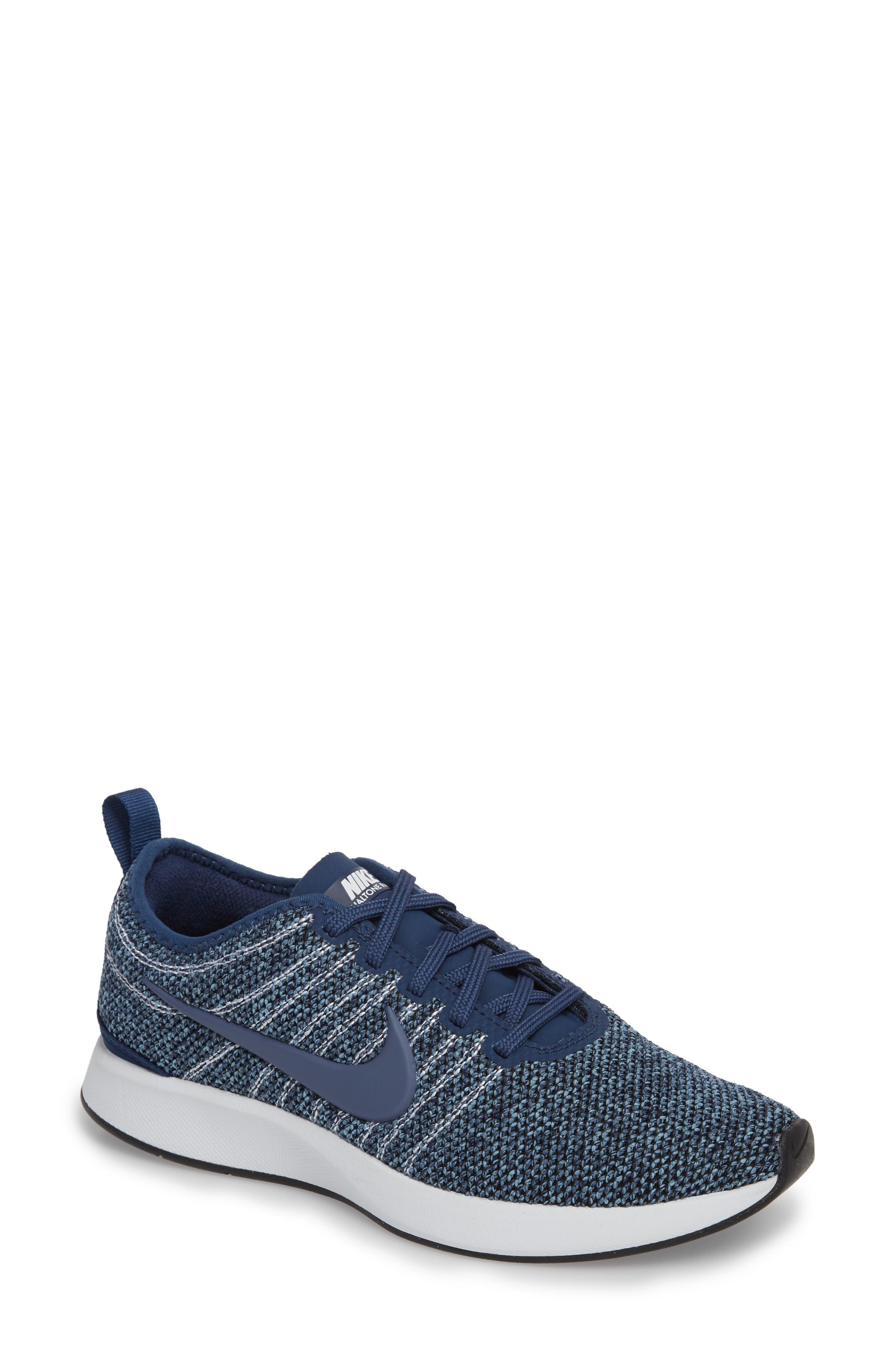 Dualtone Racer PRM Sneaker,                             Main thumbnail 1, color,                             Navy/ Diffused Blue