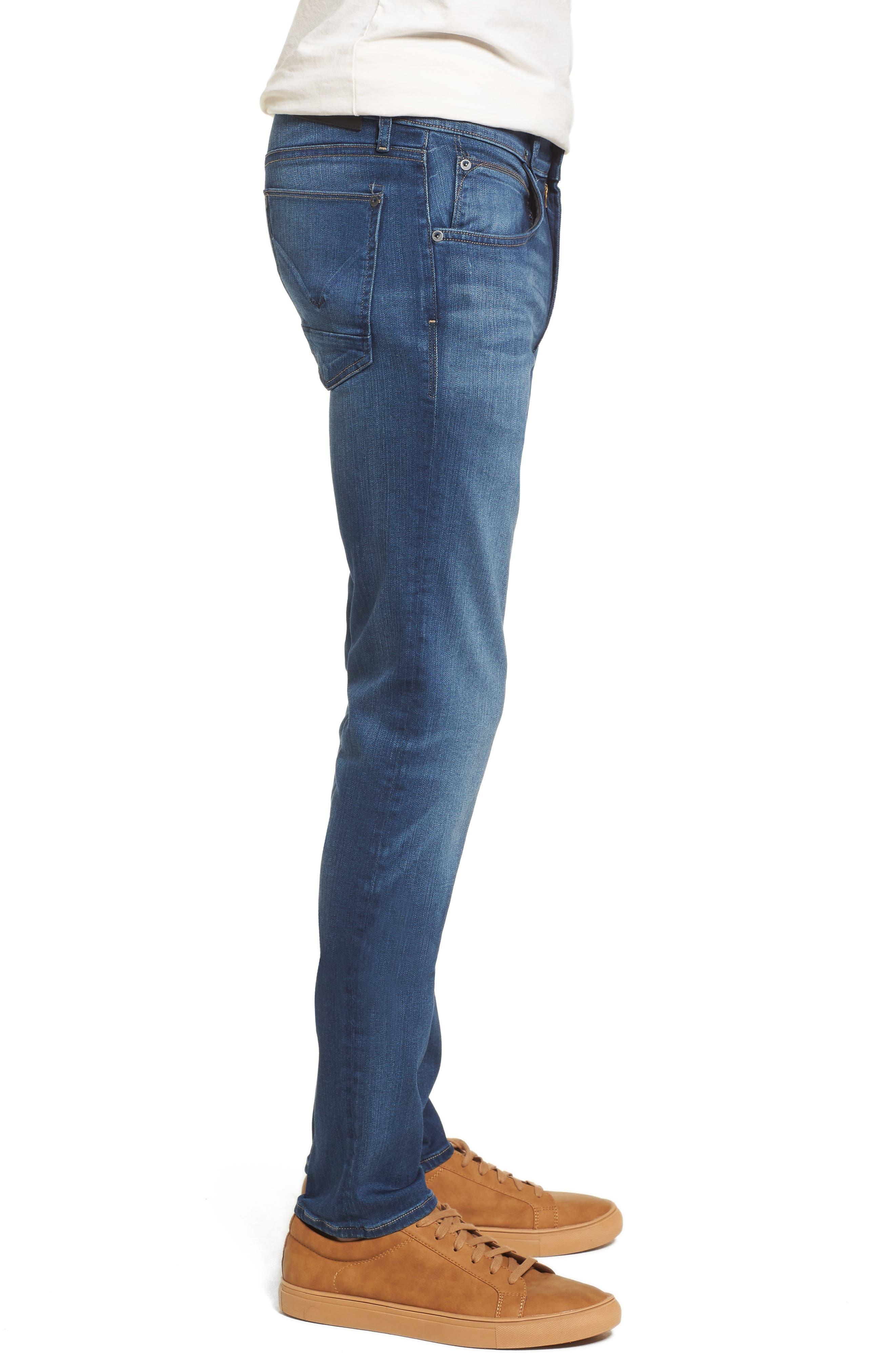 Hudson Blake Slim Fit Jeans,                             Alternate thumbnail 3, color,                             Independent
