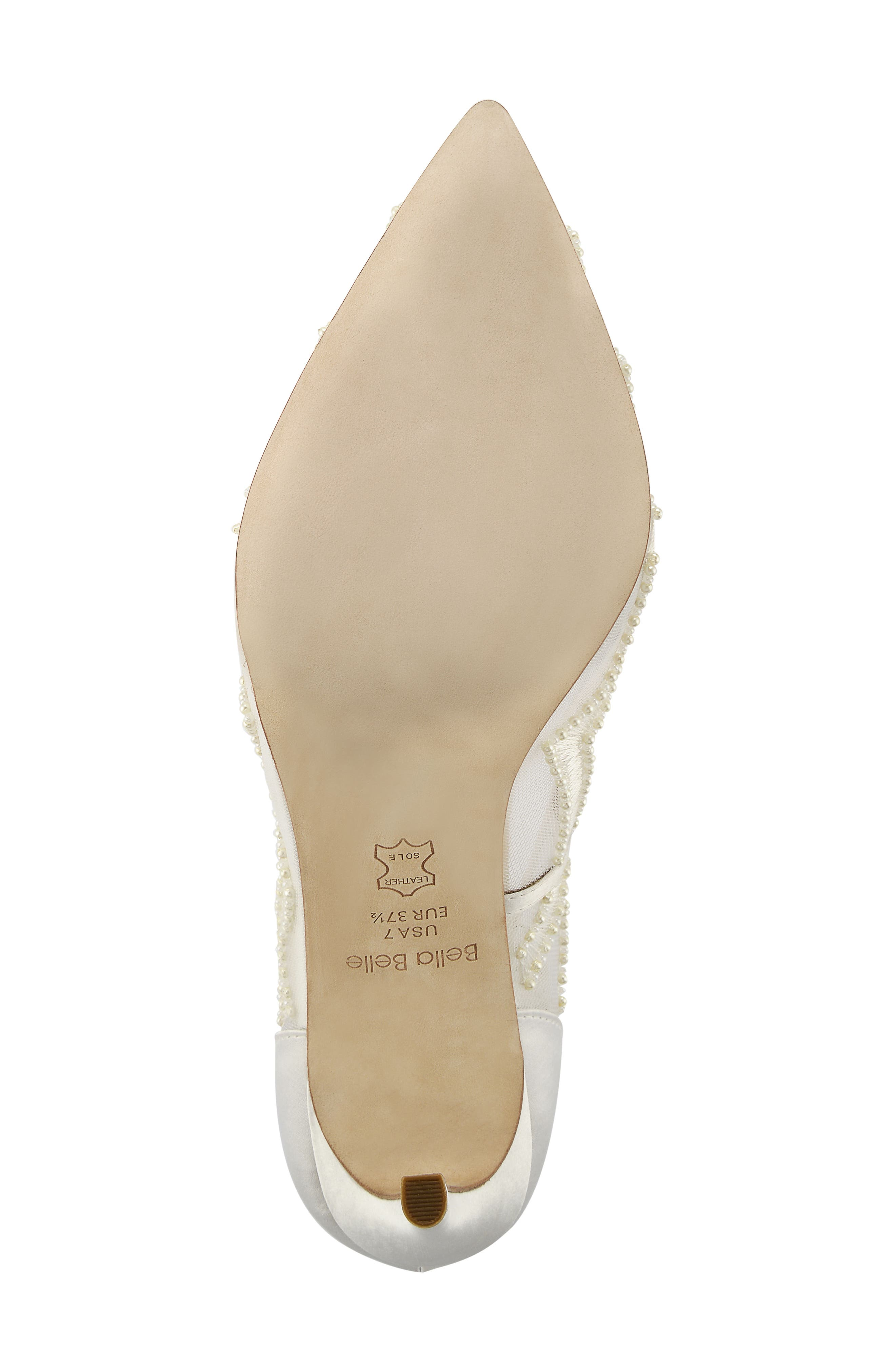 Nadia Pump,                             Alternate thumbnail 6, color,                             Ivory Silk