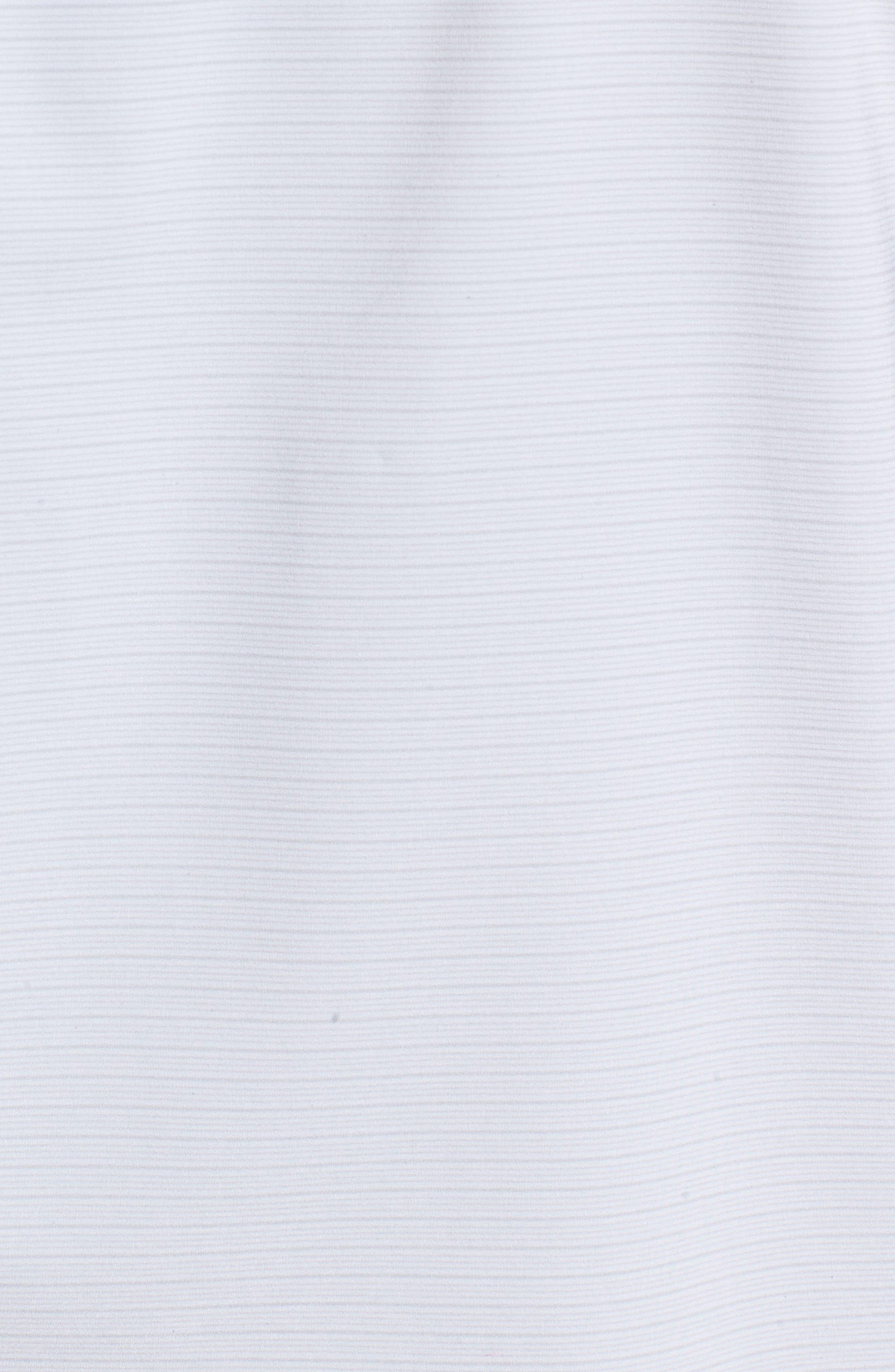 Luca Quarter Zip Pullover,                             Alternate thumbnail 5, color,                             Micro Chip/ White
