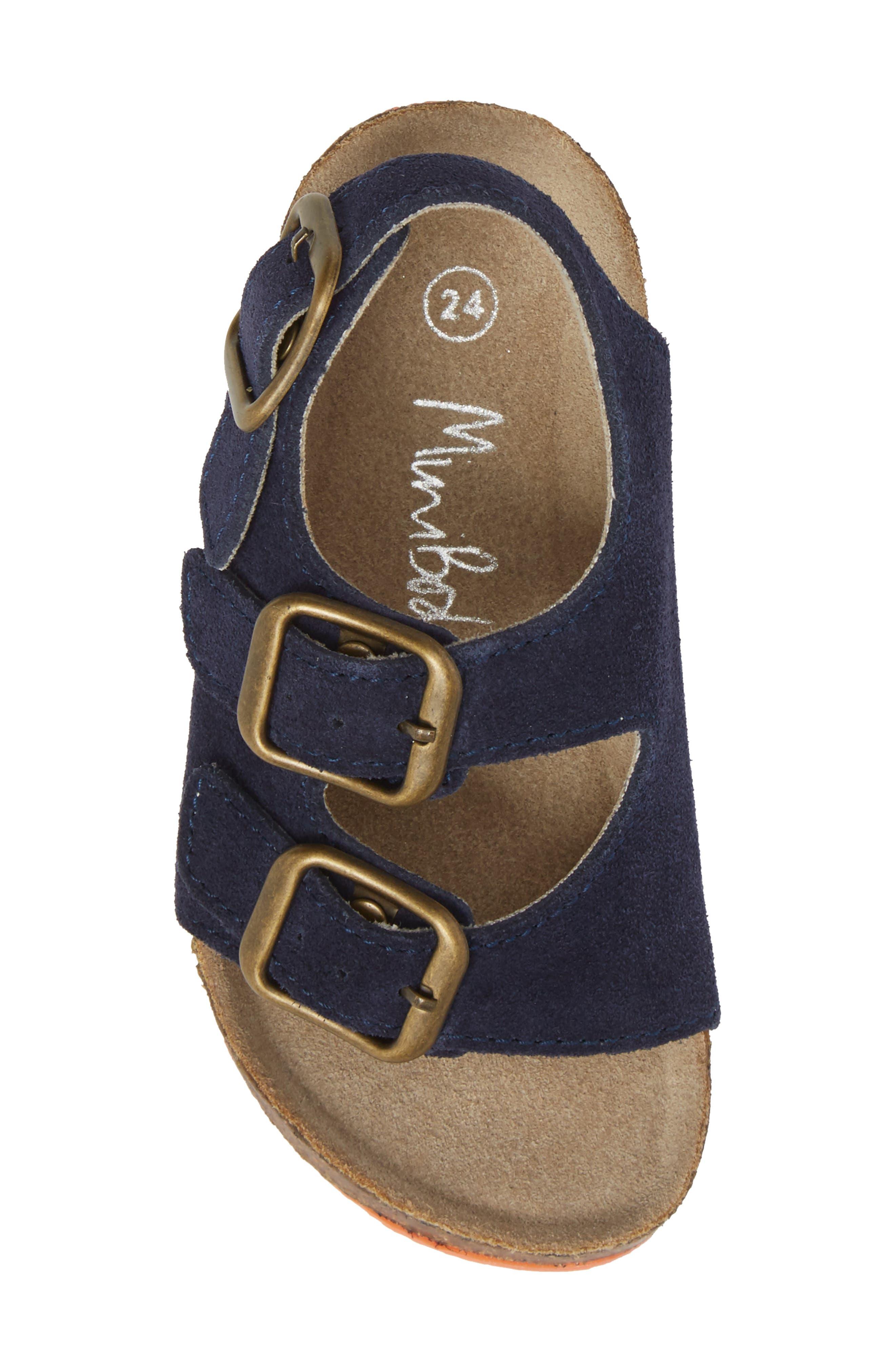 Sandal,                             Alternate thumbnail 5, color,                             School Navy
