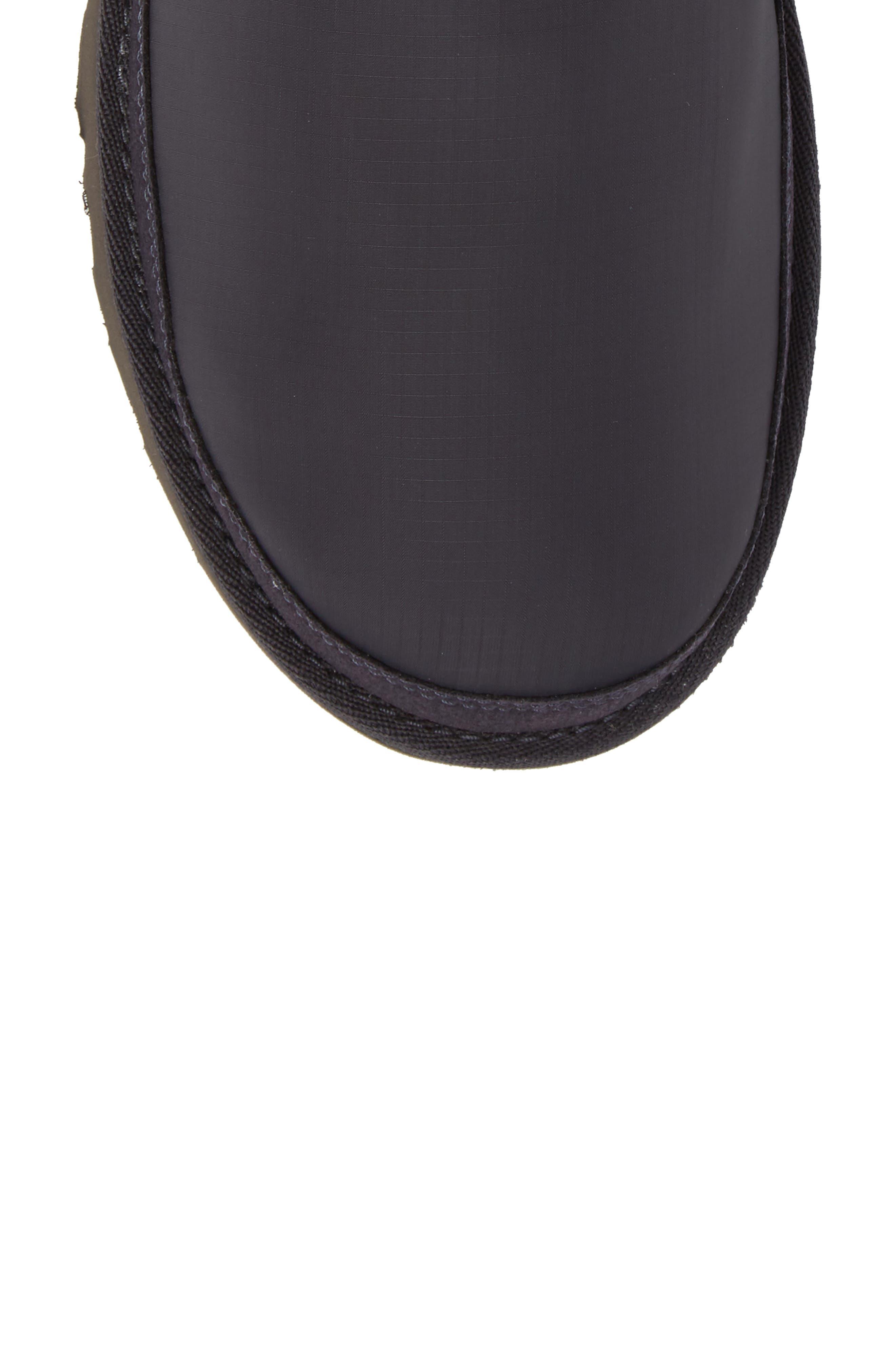 Neumel Ripstop Chukka Boot,                             Alternate thumbnail 5, color,                             True Navy Leather