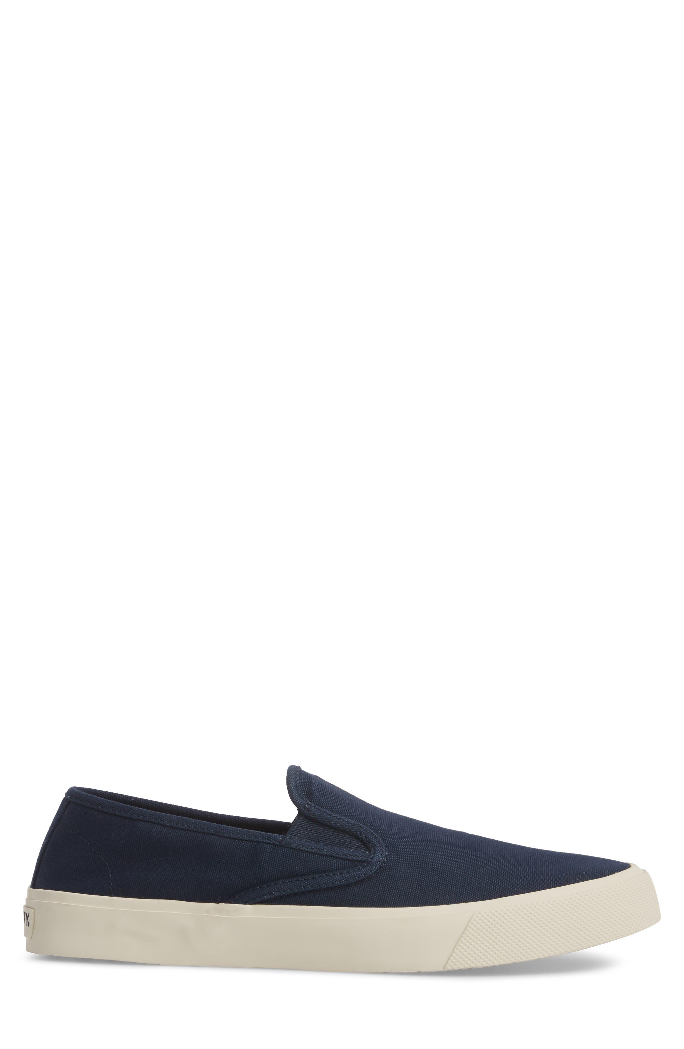 Striper II Slip-On Sneaker,                             Alternate thumbnail 3, color,                             Navy