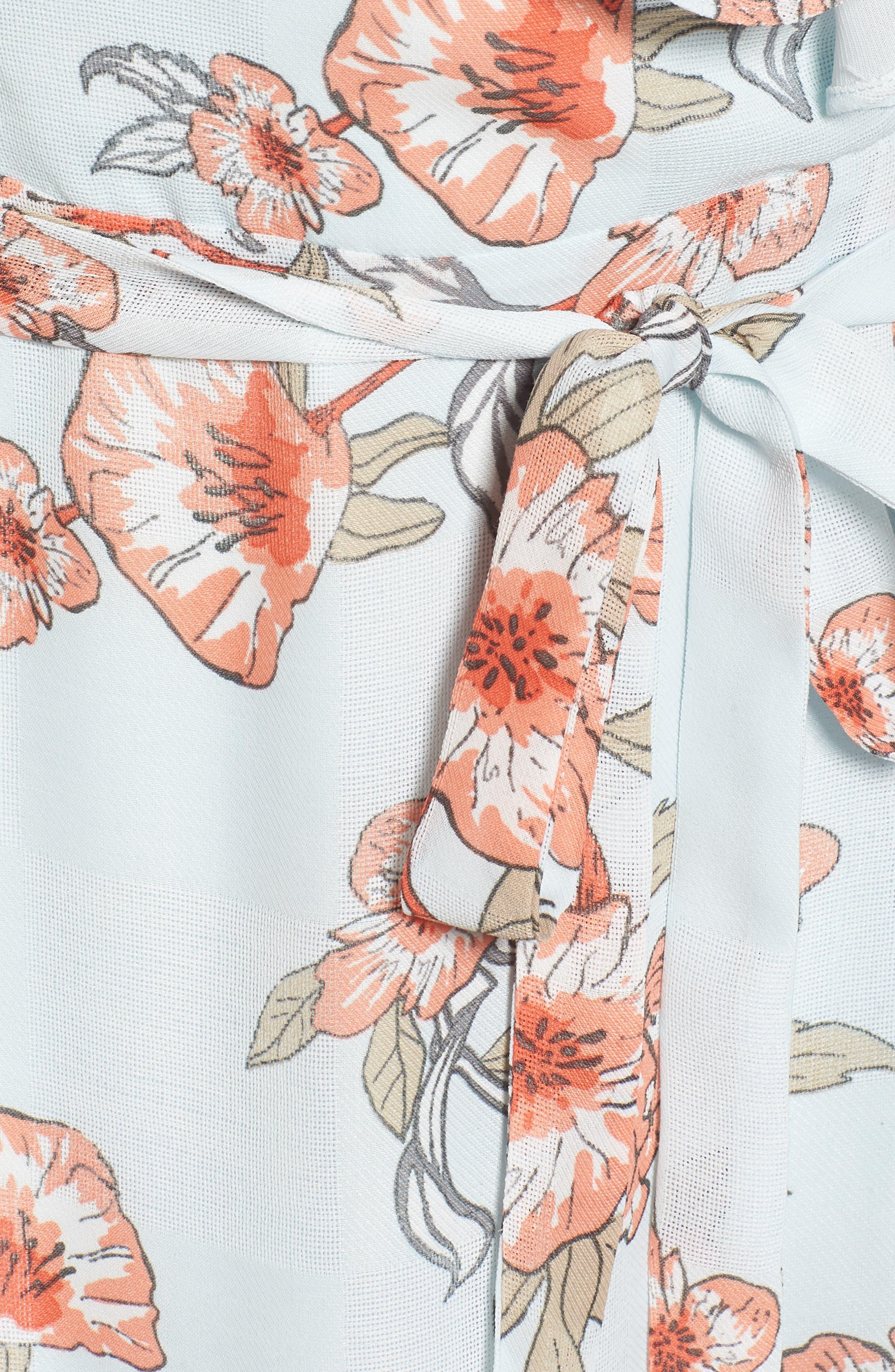 Alternate Image 6  - J.O.A. Ruffle Maxi Dress