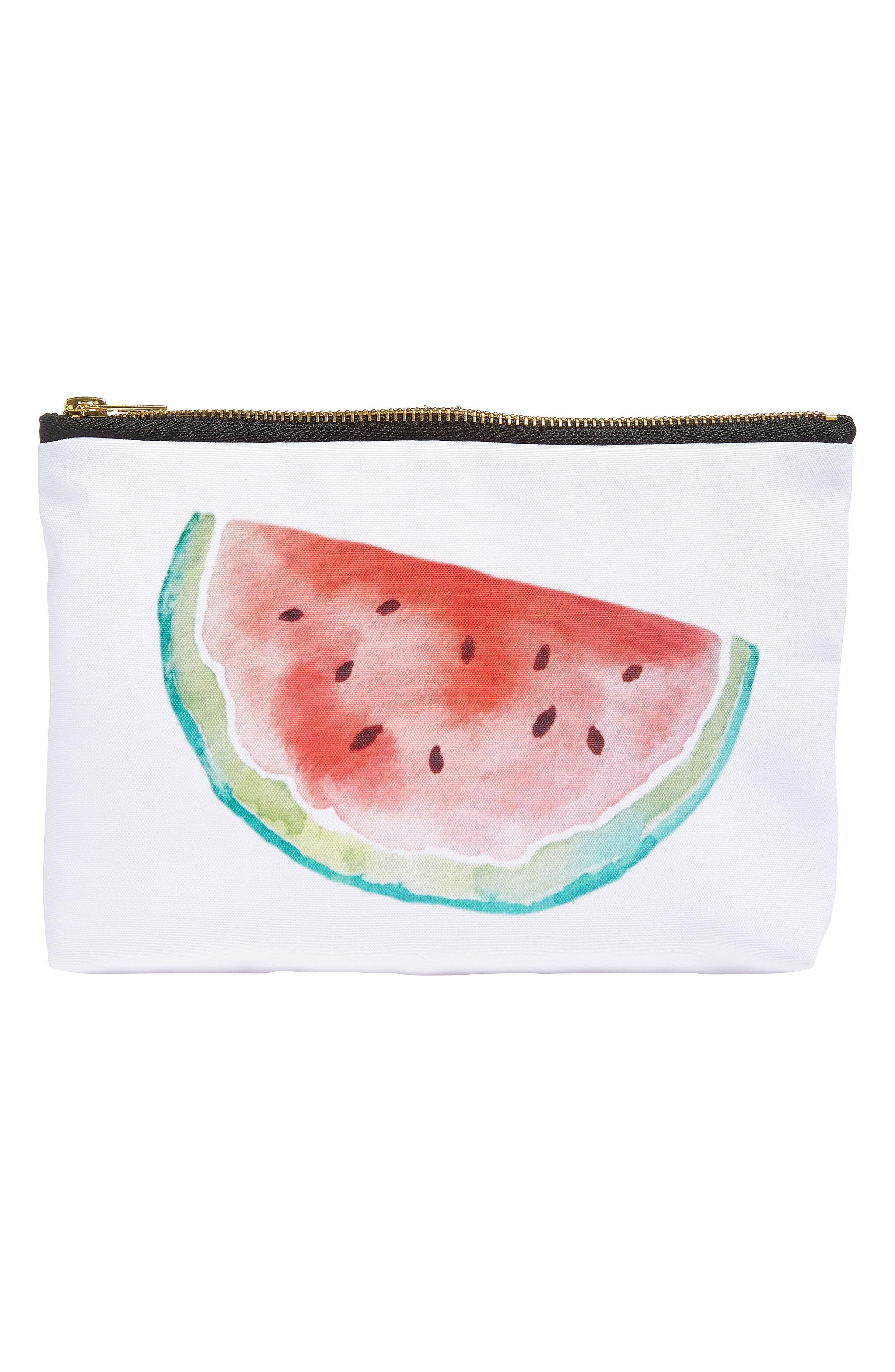 Levtex Watermelon Zip Pouch