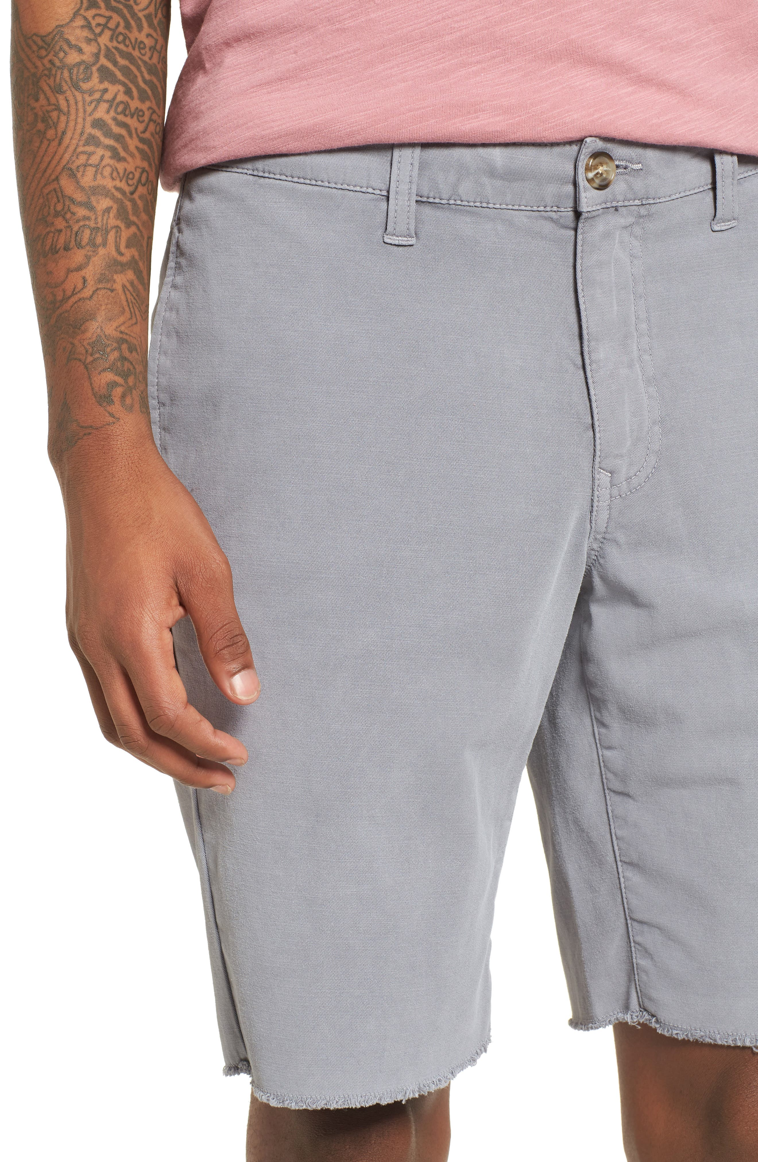 Frost Wash Shorts,                             Alternate thumbnail 4, color,                             Grey Sleet