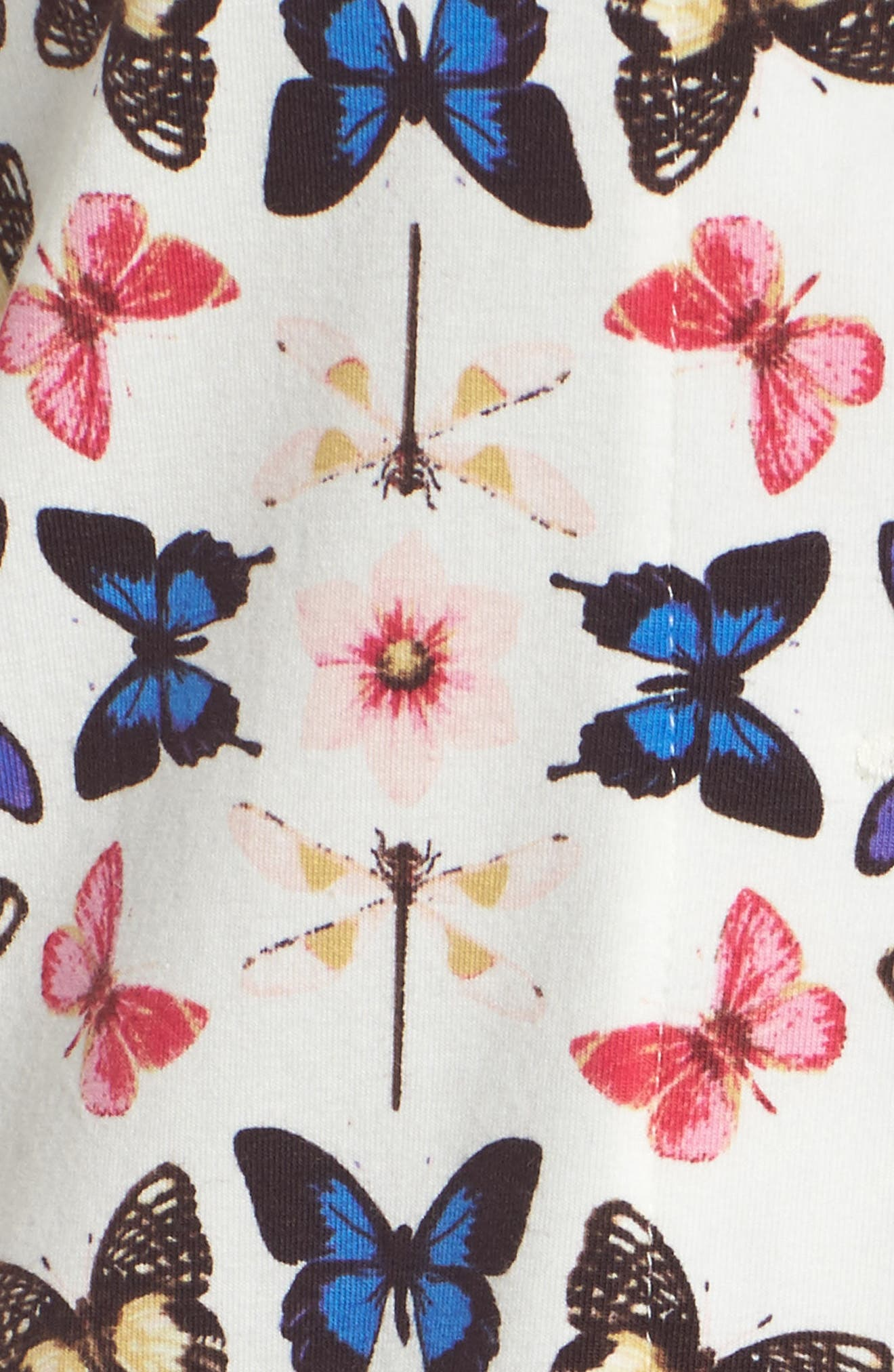 Rouge Short Pajamas,                             Alternate thumbnail 6, color,                             Butterfly Print