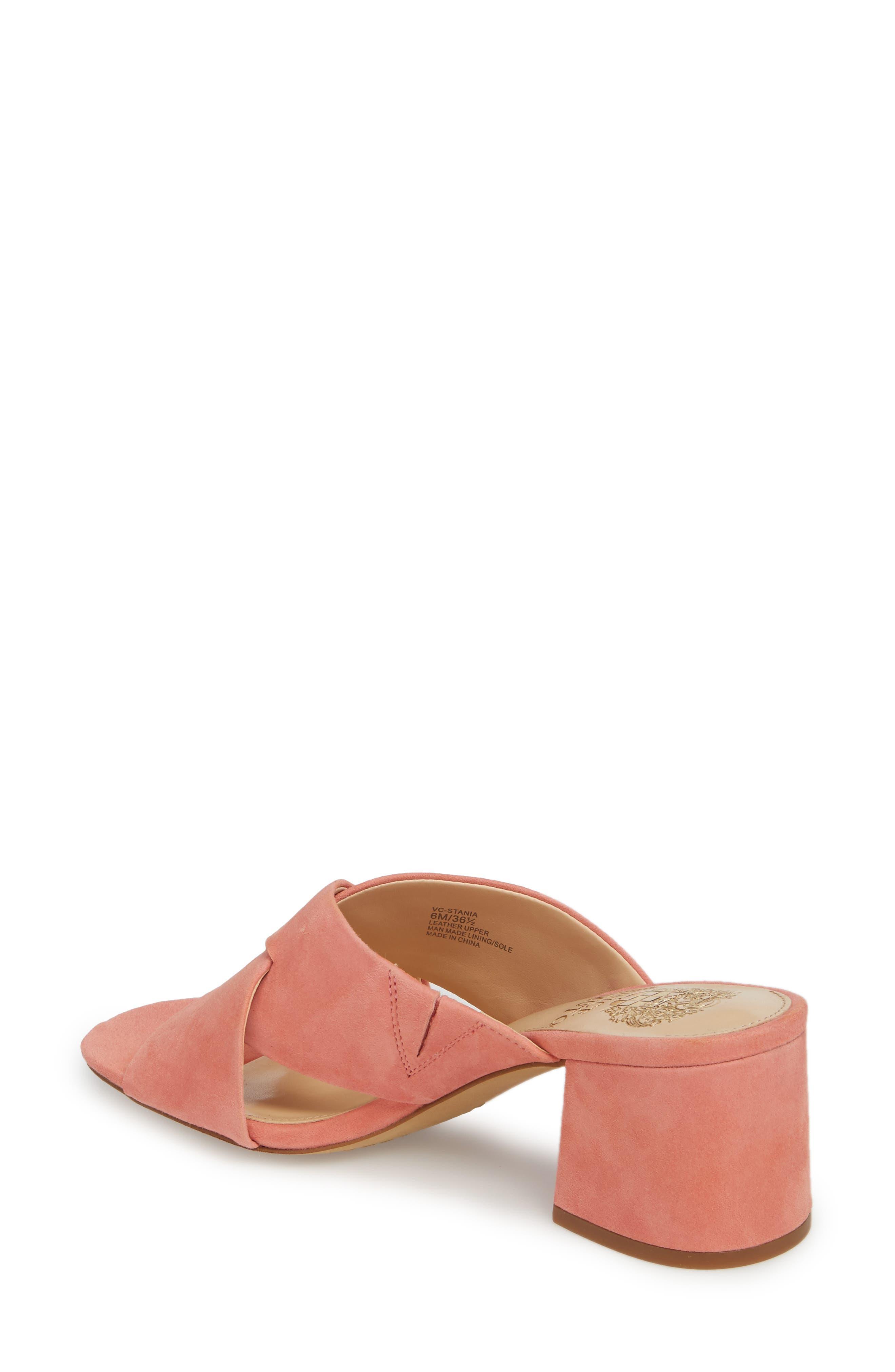 Stania Sandal,                             Alternate thumbnail 2, color,                             Fancy Flamingo Suede
