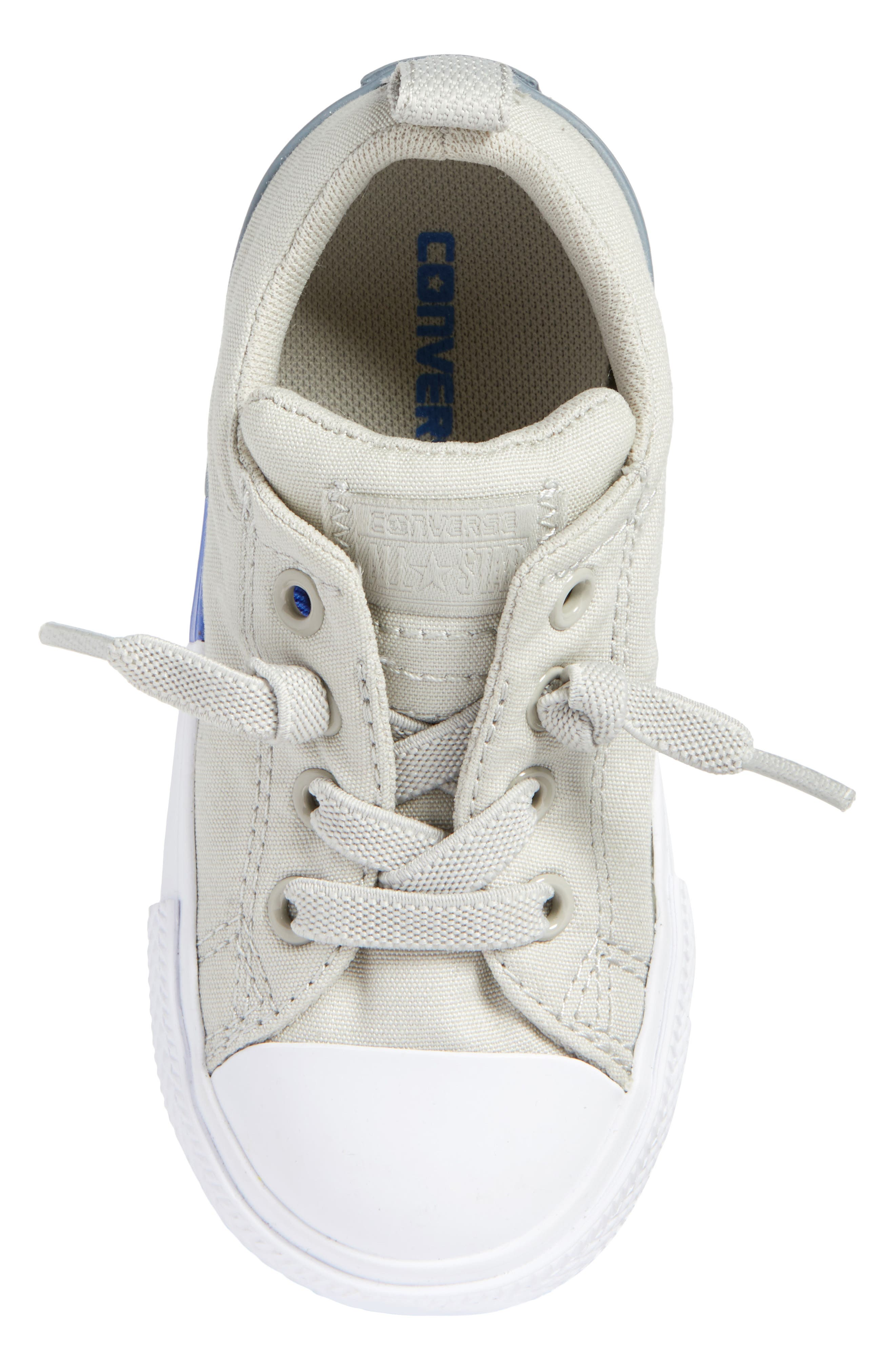 Chuck Taylor<sup>®</sup> All Star<sup>®</sup> Colorblock Street Sneaker,                             Alternate thumbnail 5, color,                             Pale Grey