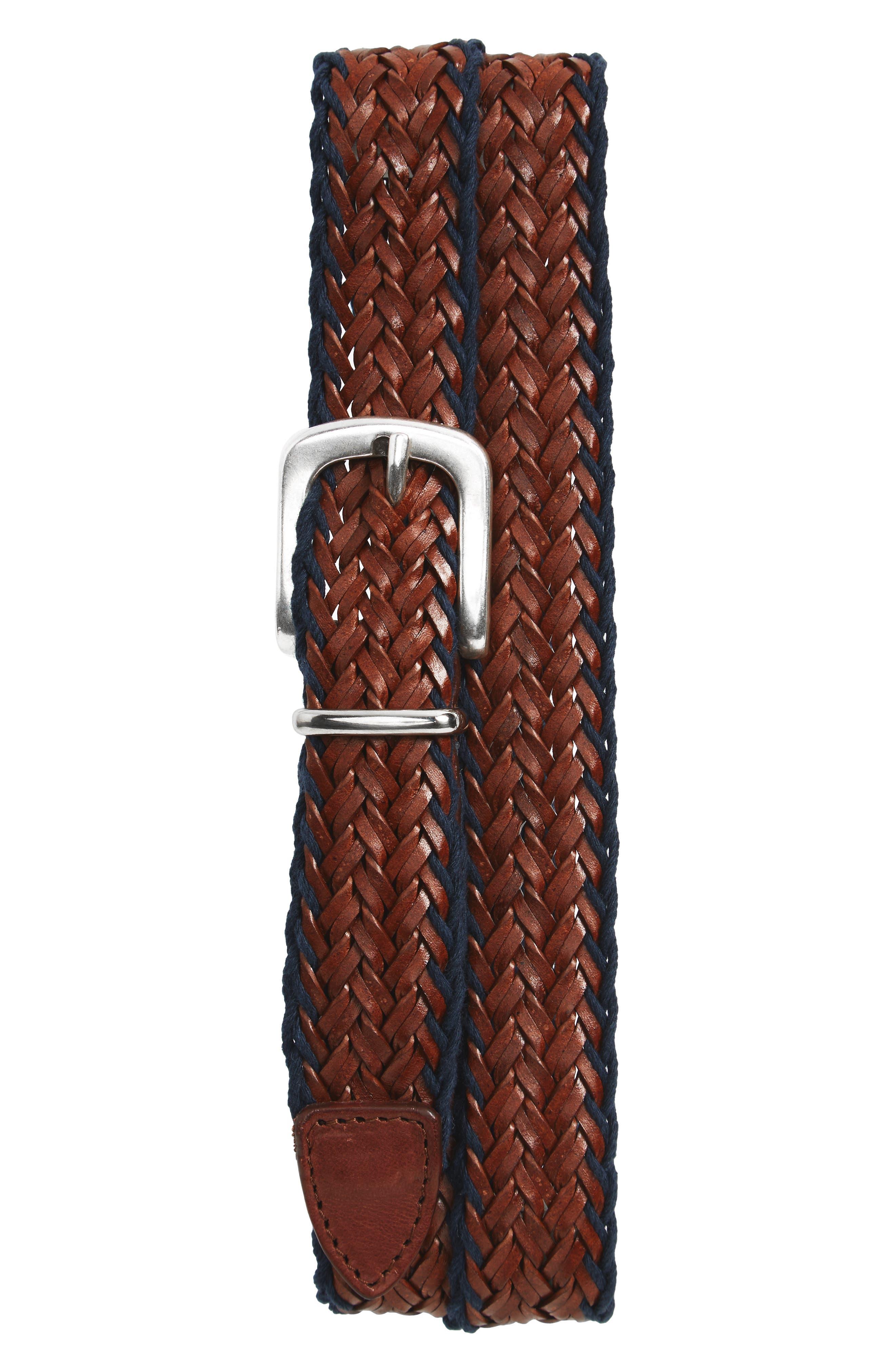 Alternate Image 1 Selected - Eleventy Woven Belt