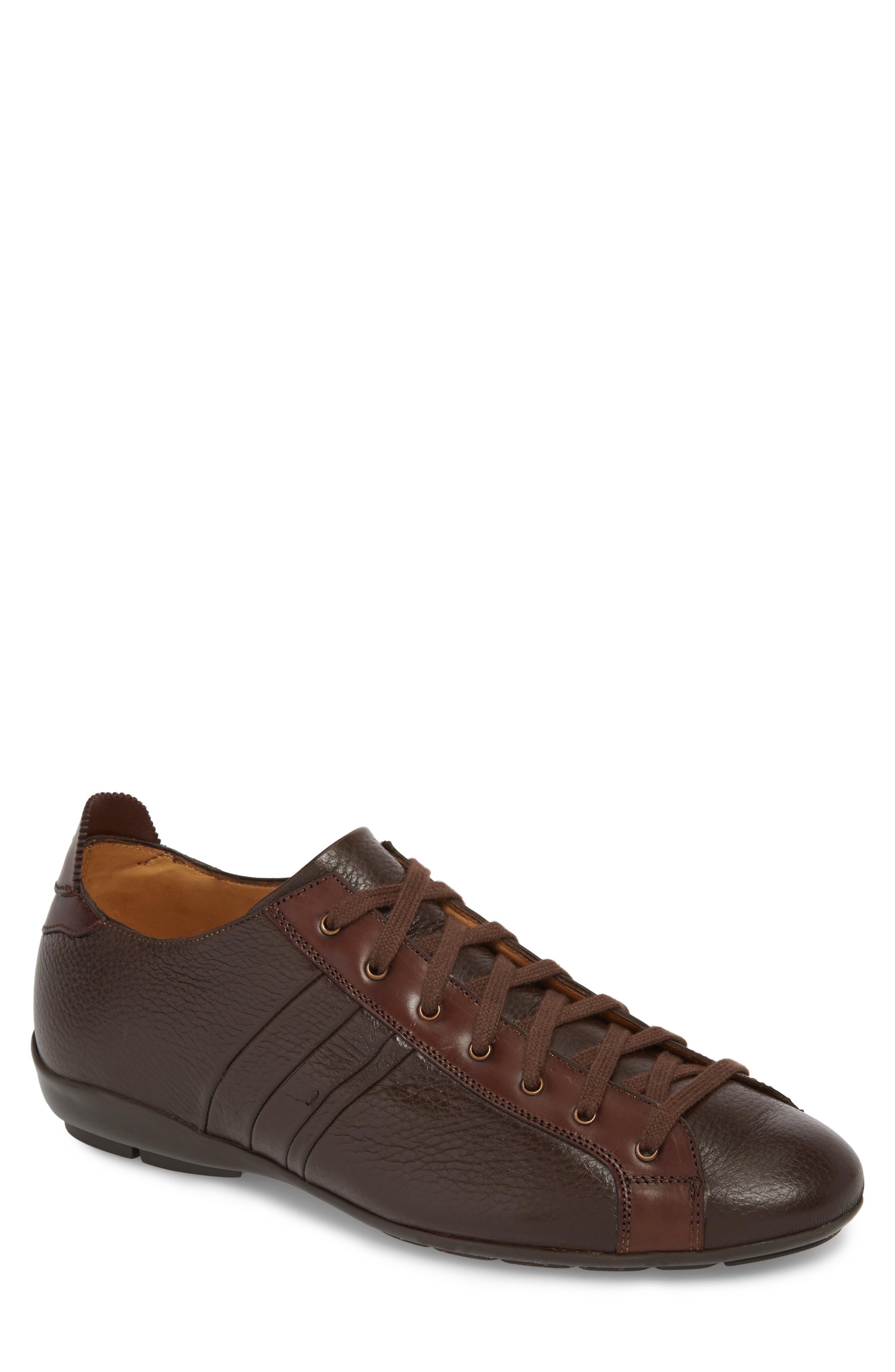 Tiberio Sneaker,                         Main,                         color, Brown