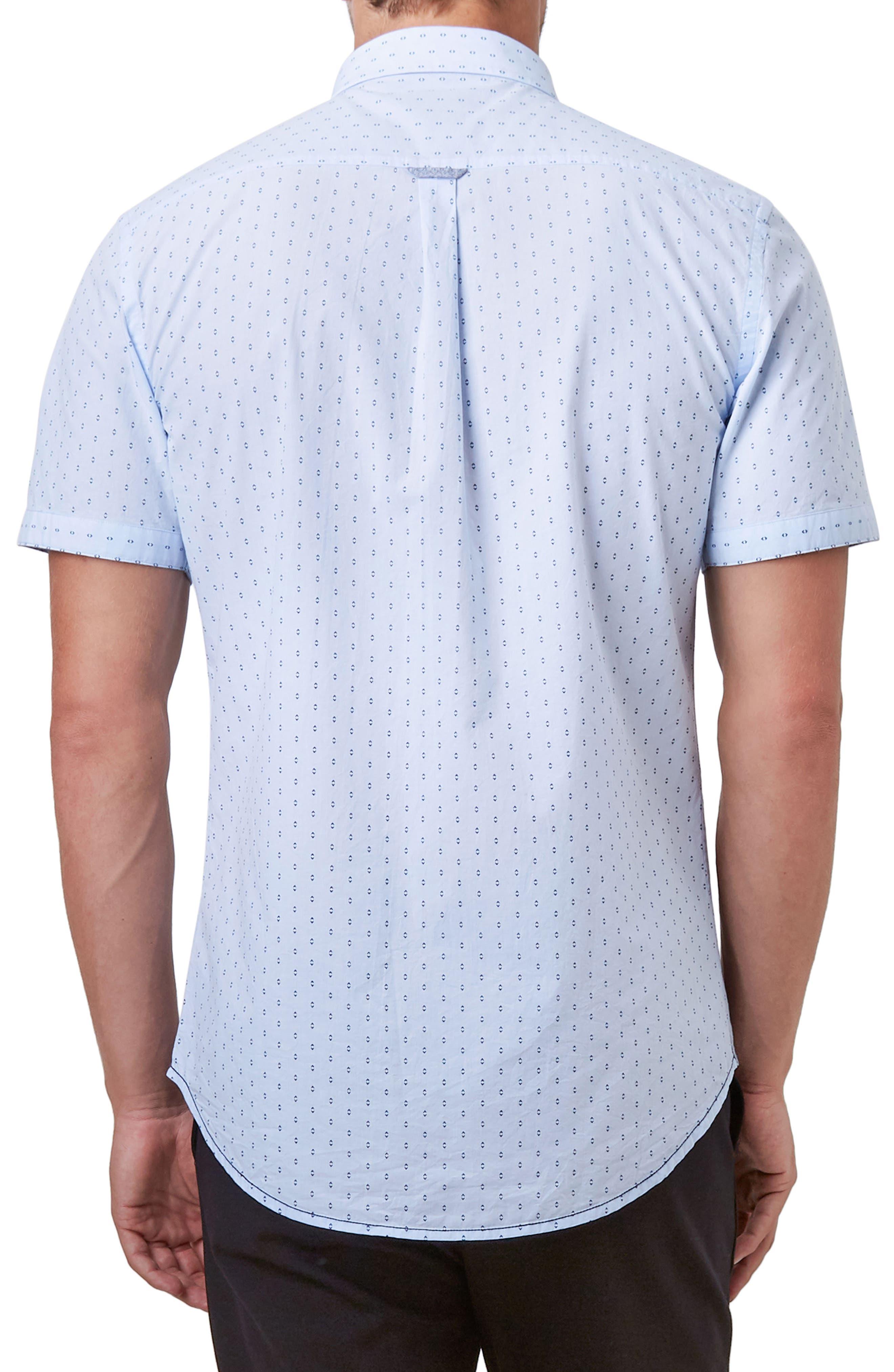 Automation Woven Shirt,                             Alternate thumbnail 2, color,                             Lt. Blue