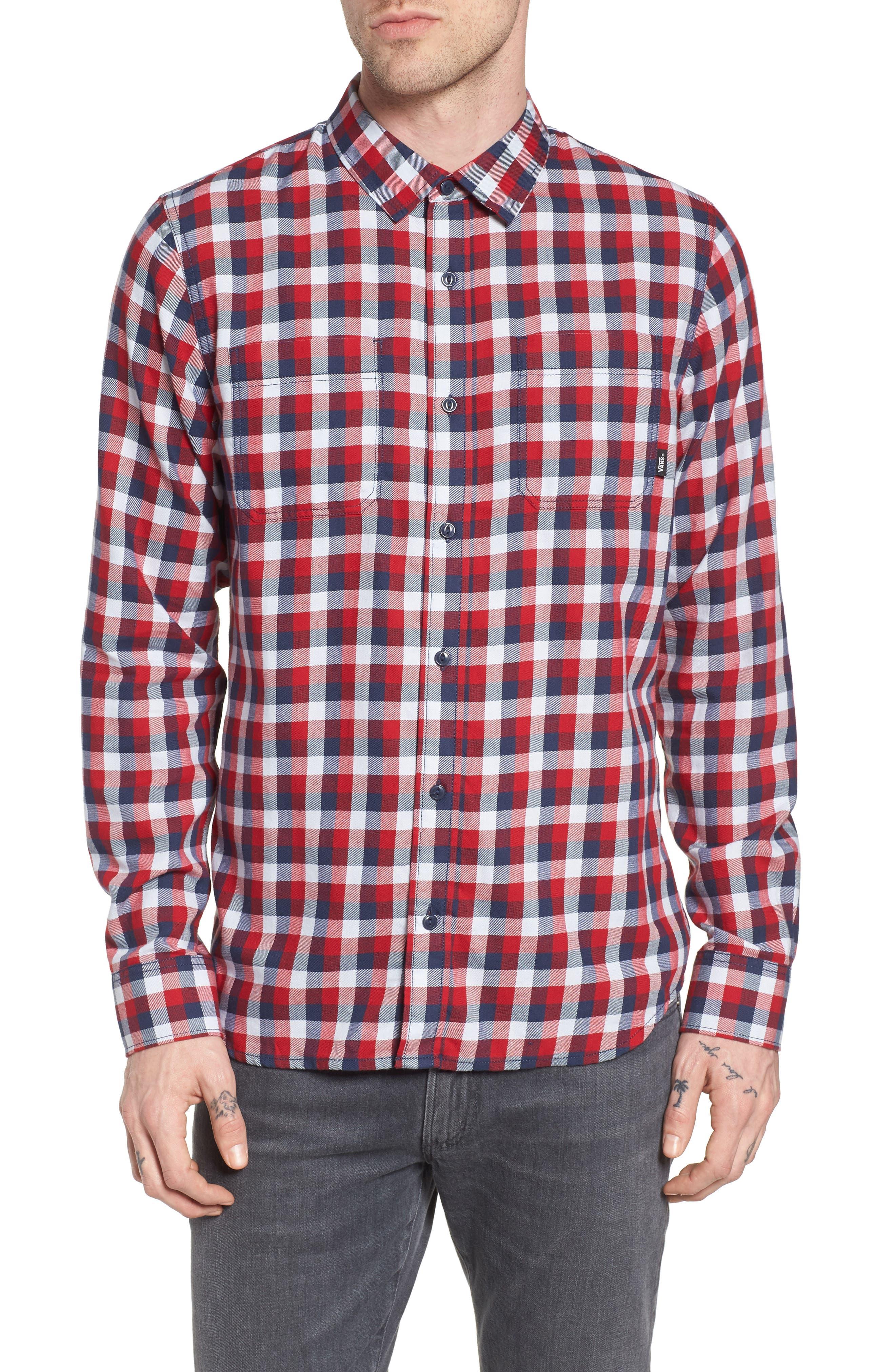 Main Image - Vans Alameda II Plaid Flannel Shirt