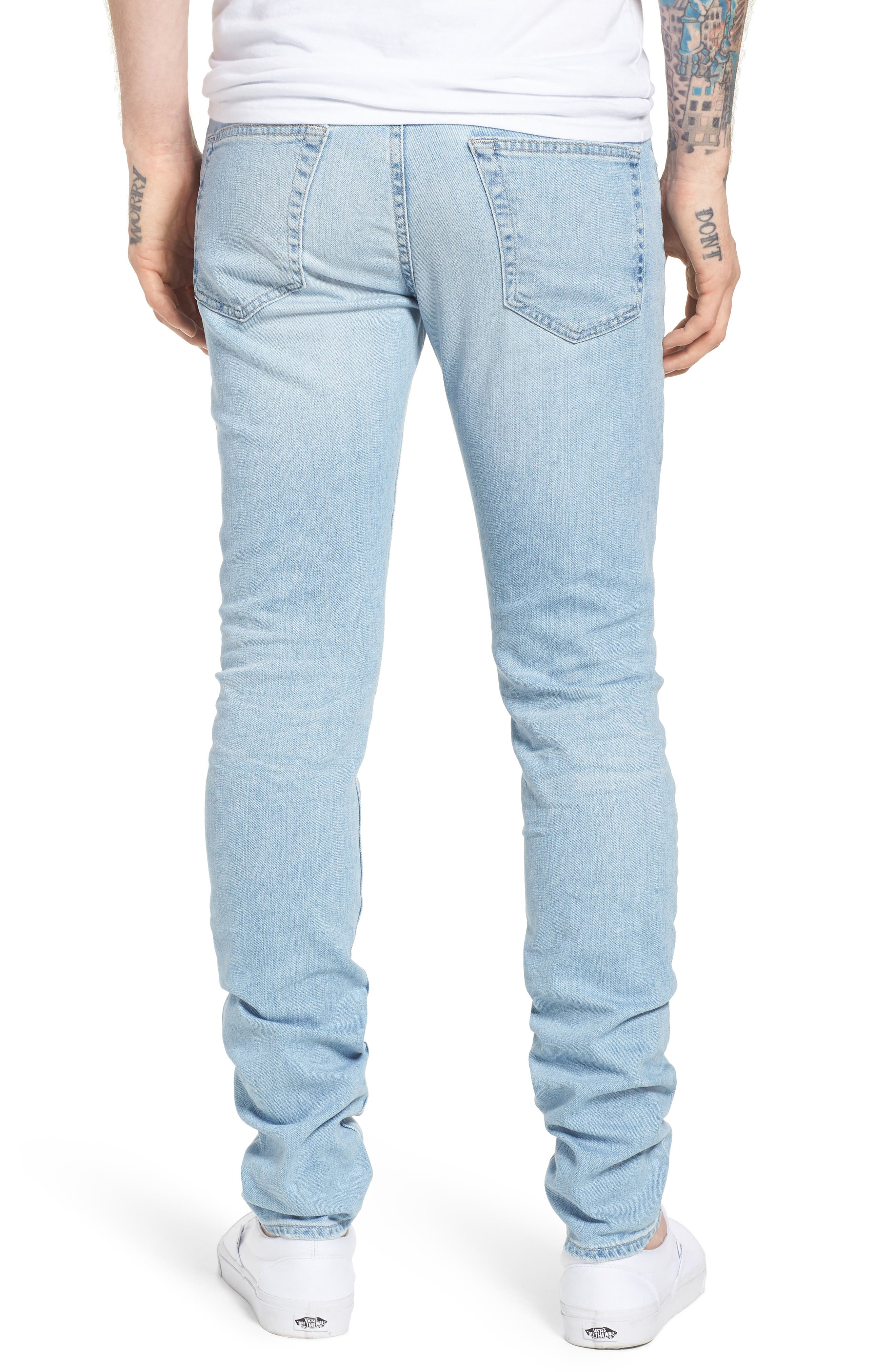 Stockton Skinny Fit Jeans,                             Alternate thumbnail 2, color,                             21 Years Solstice