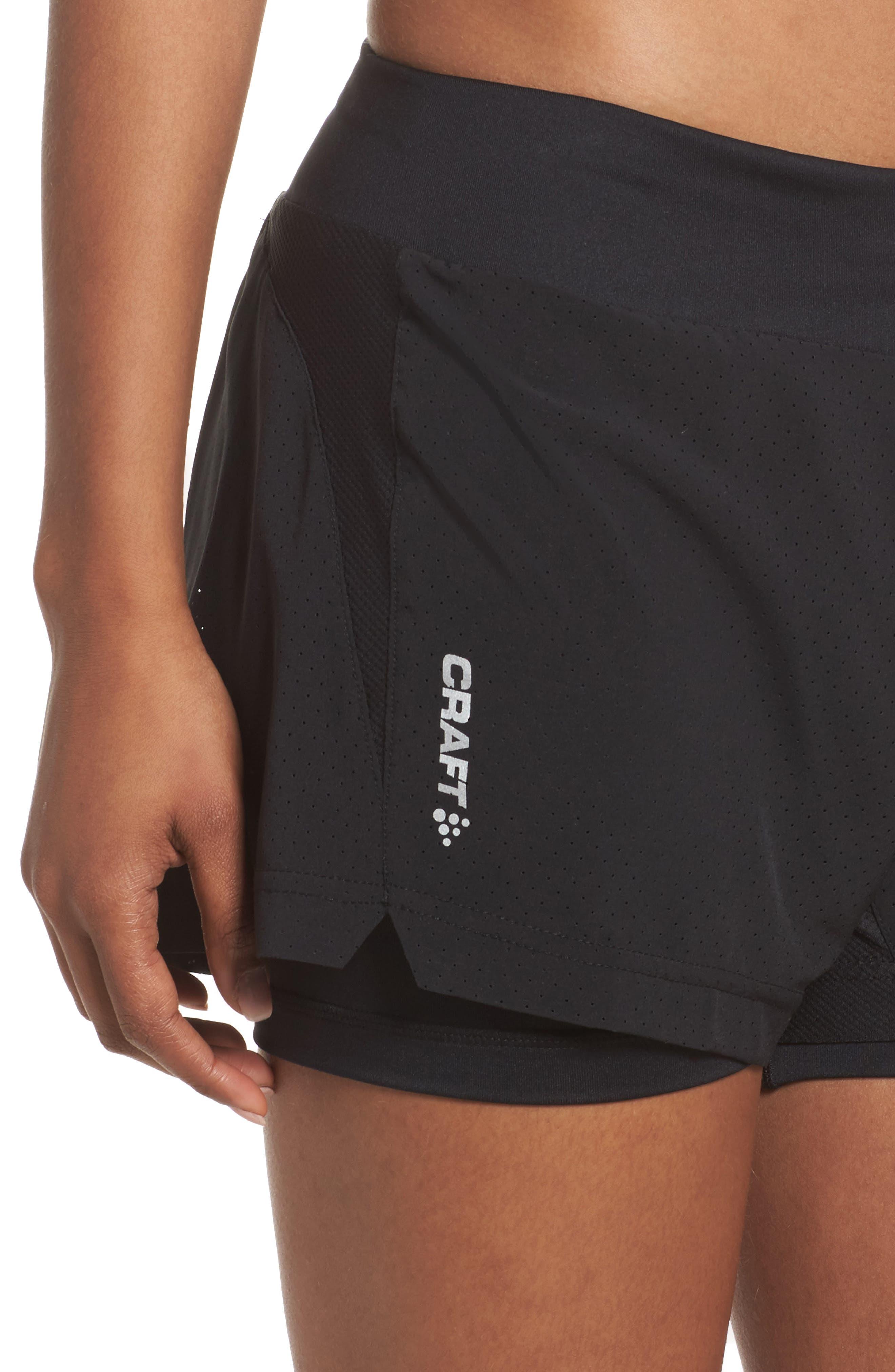 Breakaway 2-in-1 Shorts,                             Alternate thumbnail 4, color,                             Black