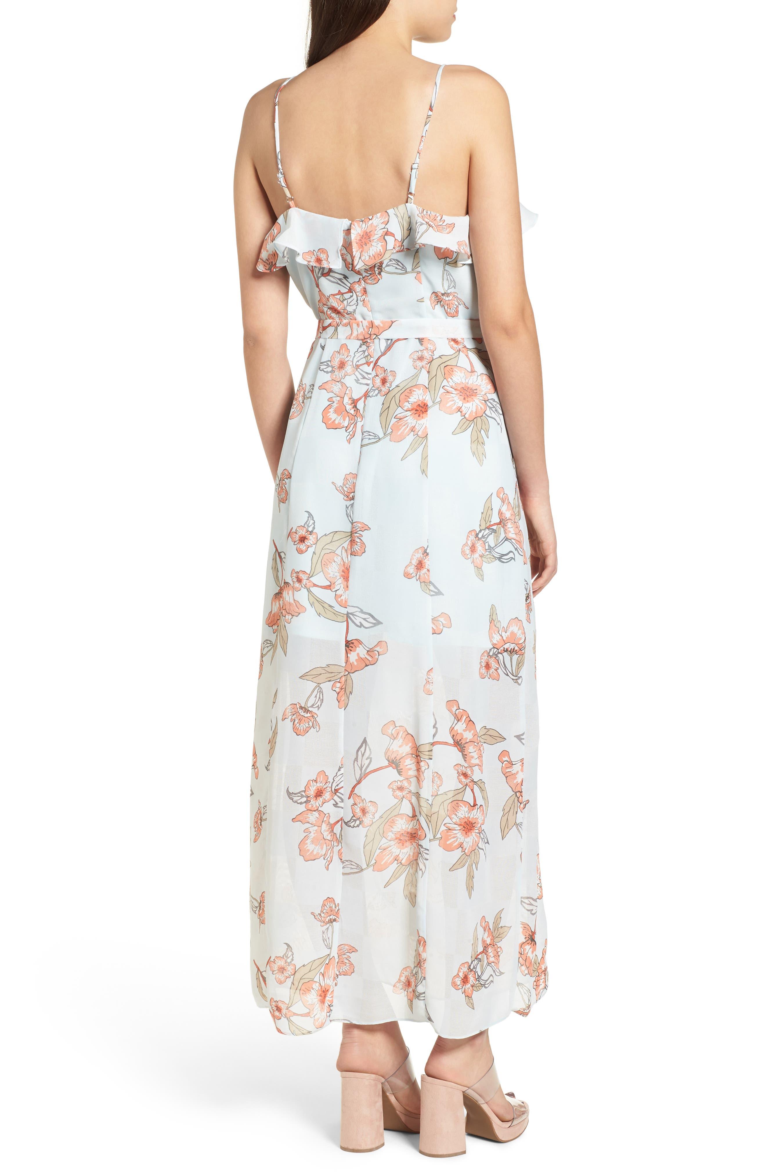 Alternate Image 3  - J.O.A. Ruffle Maxi Dress