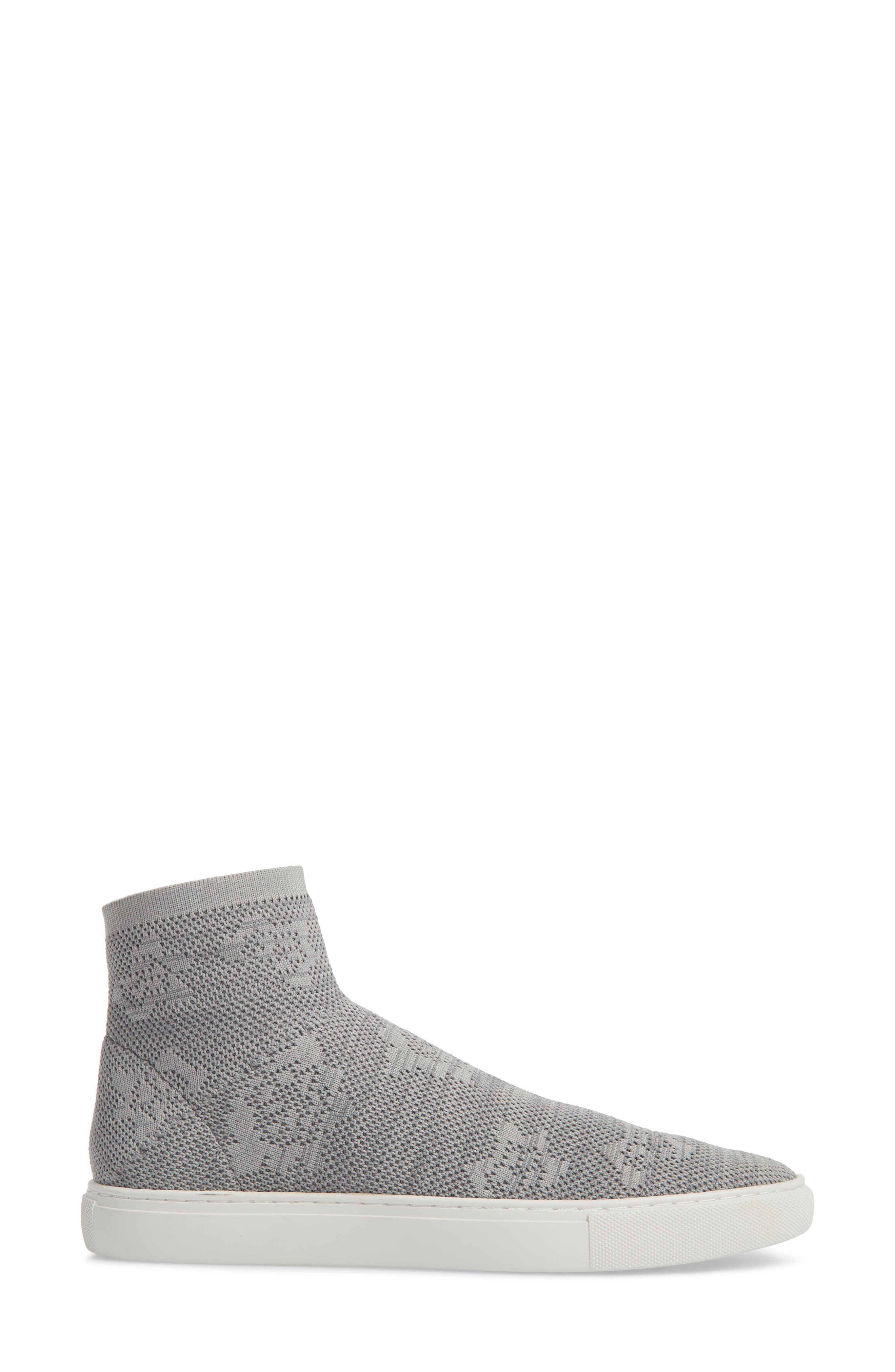 Keating Sneaker,                             Alternate thumbnail 3, color,                             Dust Grey Fabric